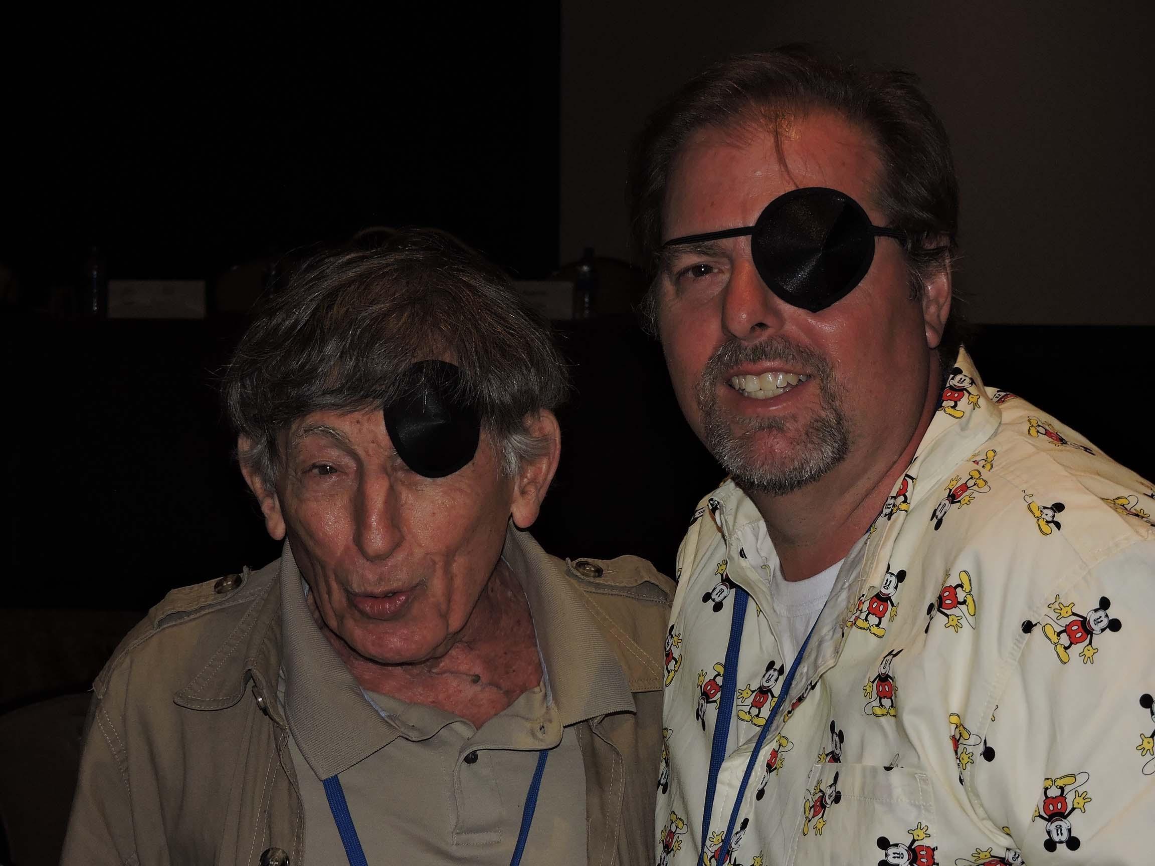 Mort Gerberg (left) and Bob East