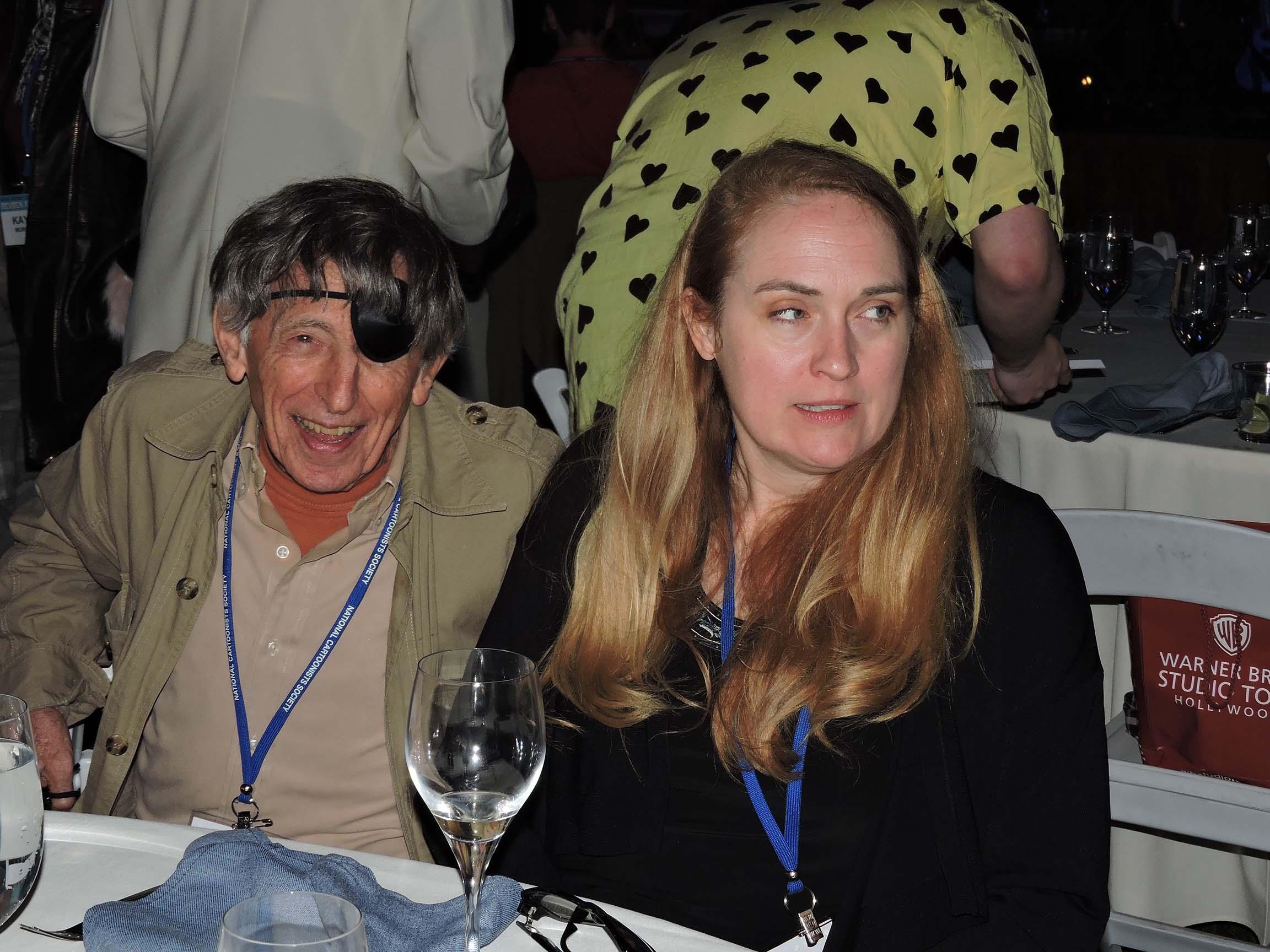 Mort Gerberg and Jenny Robb