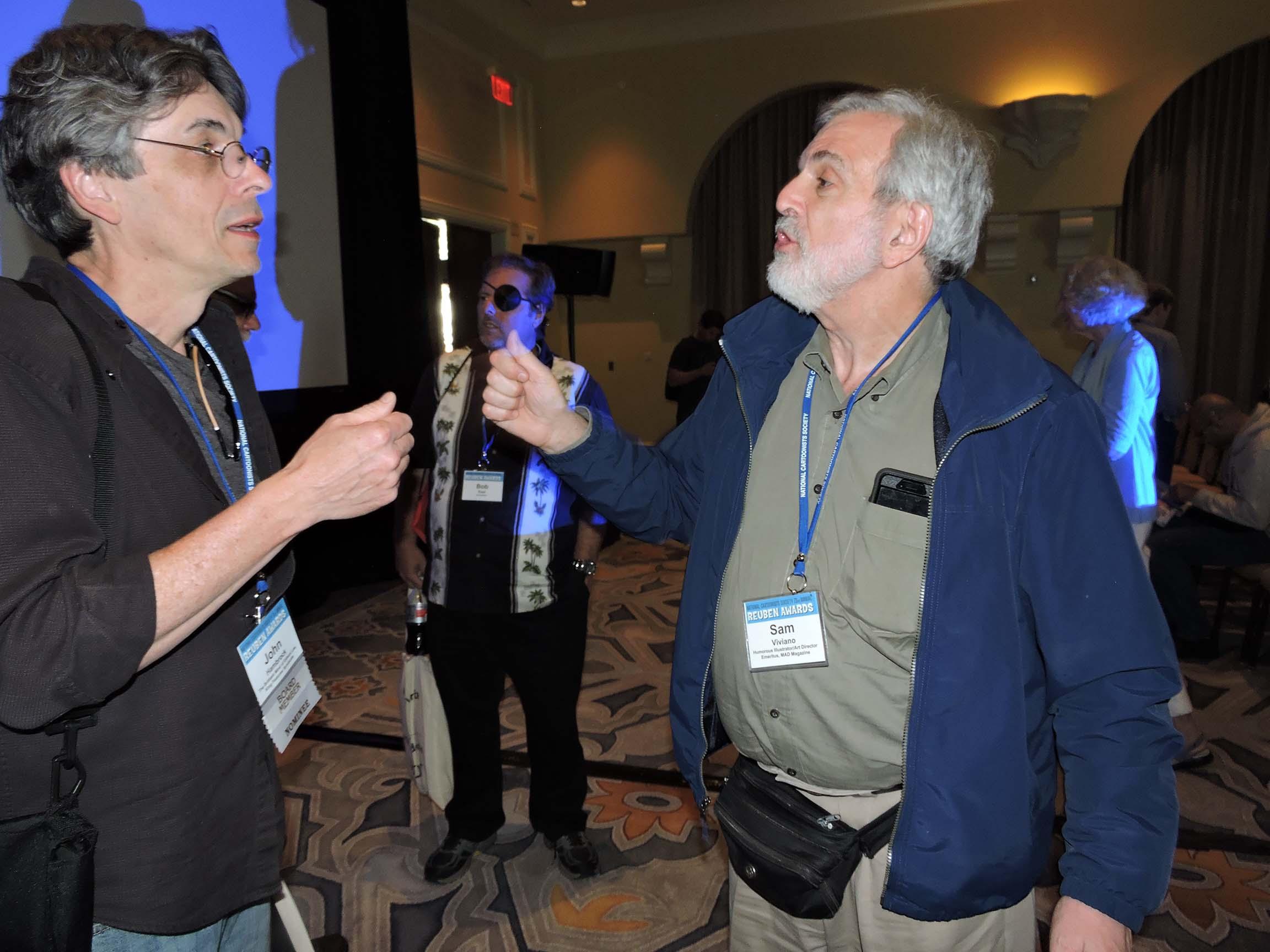 John Hambrock (left) and Sam Viviano