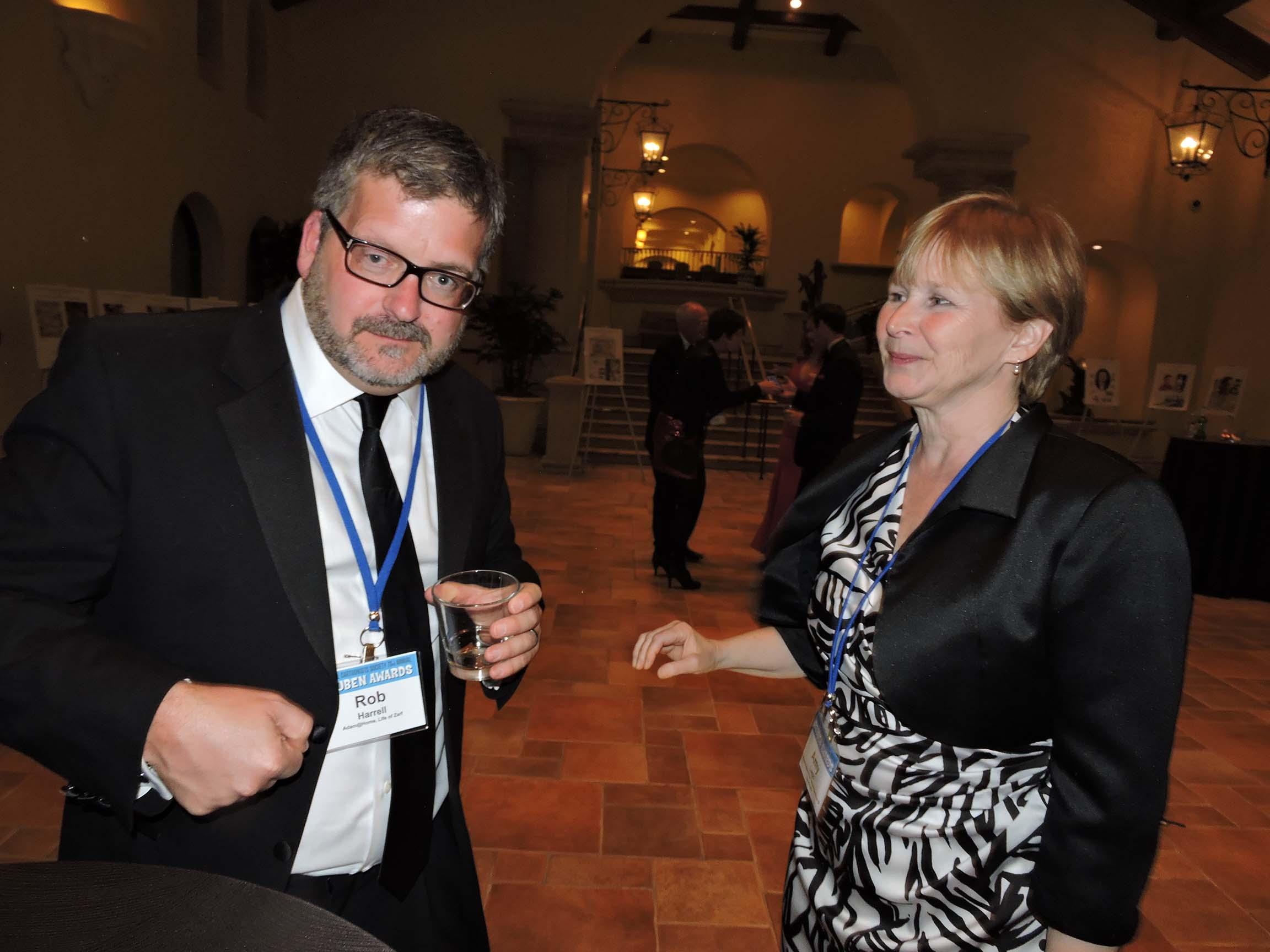 Rob Harrell and Amy Lago
