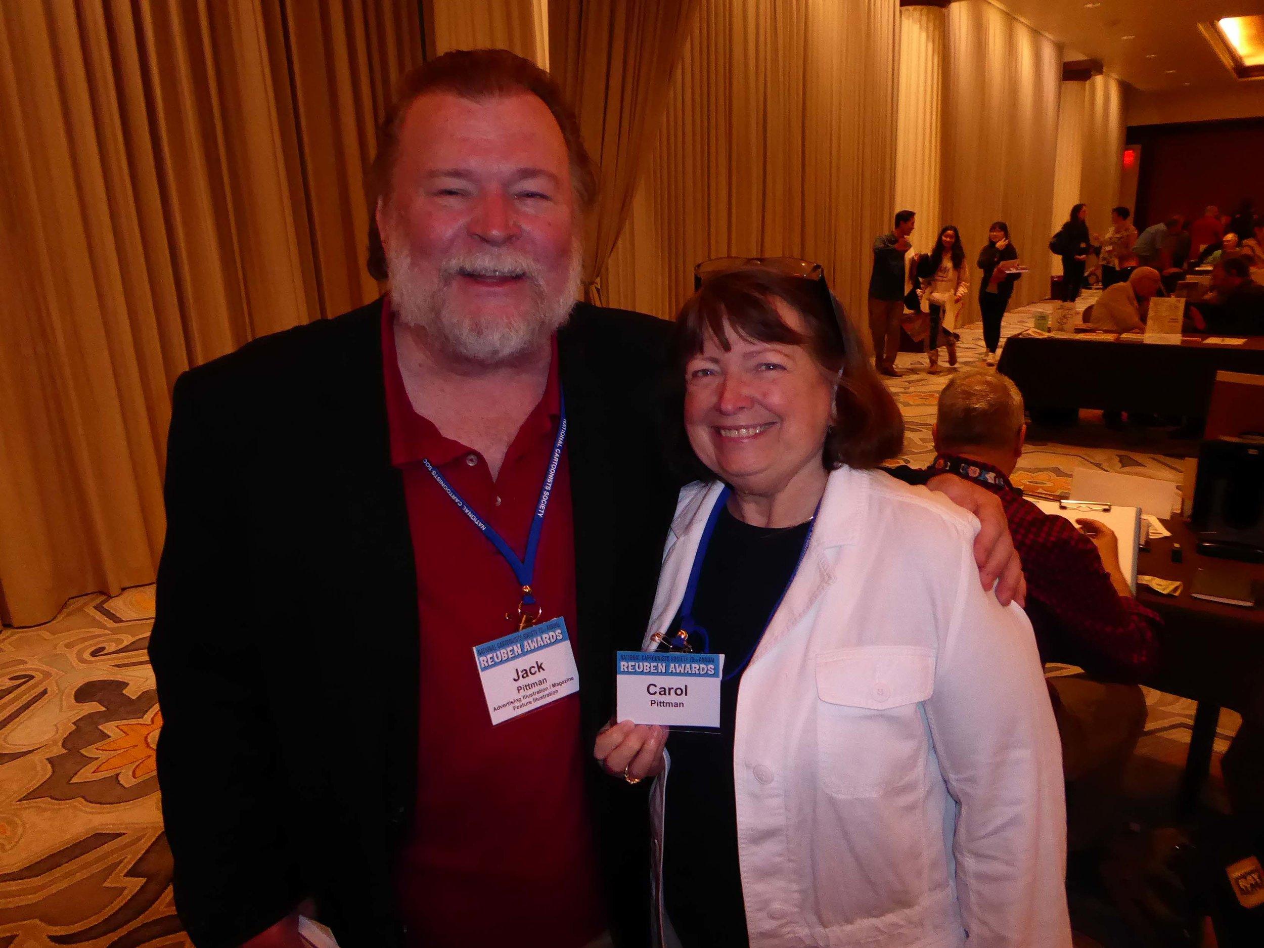 Jack and Carol Pittman