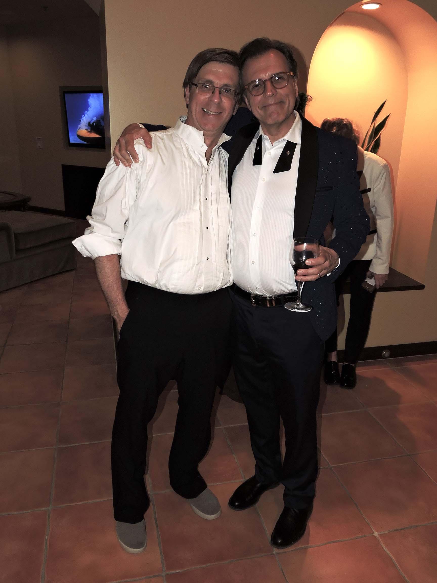 Bill Janocha (left) and Wayno