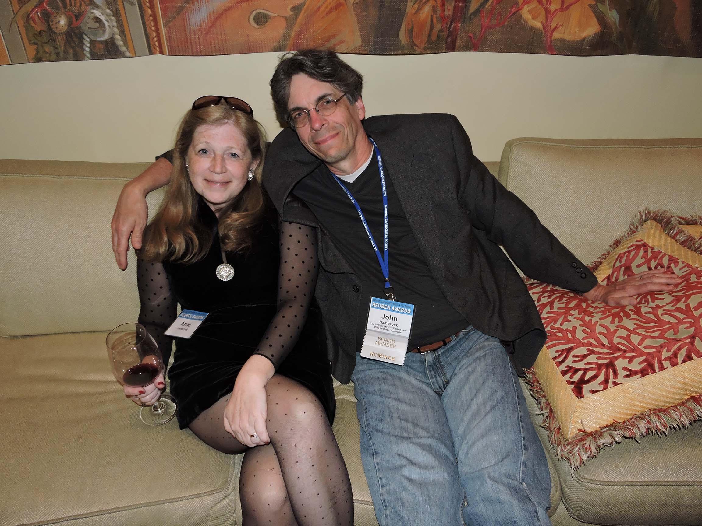 Anne Morse Hambrock and John Hambrock