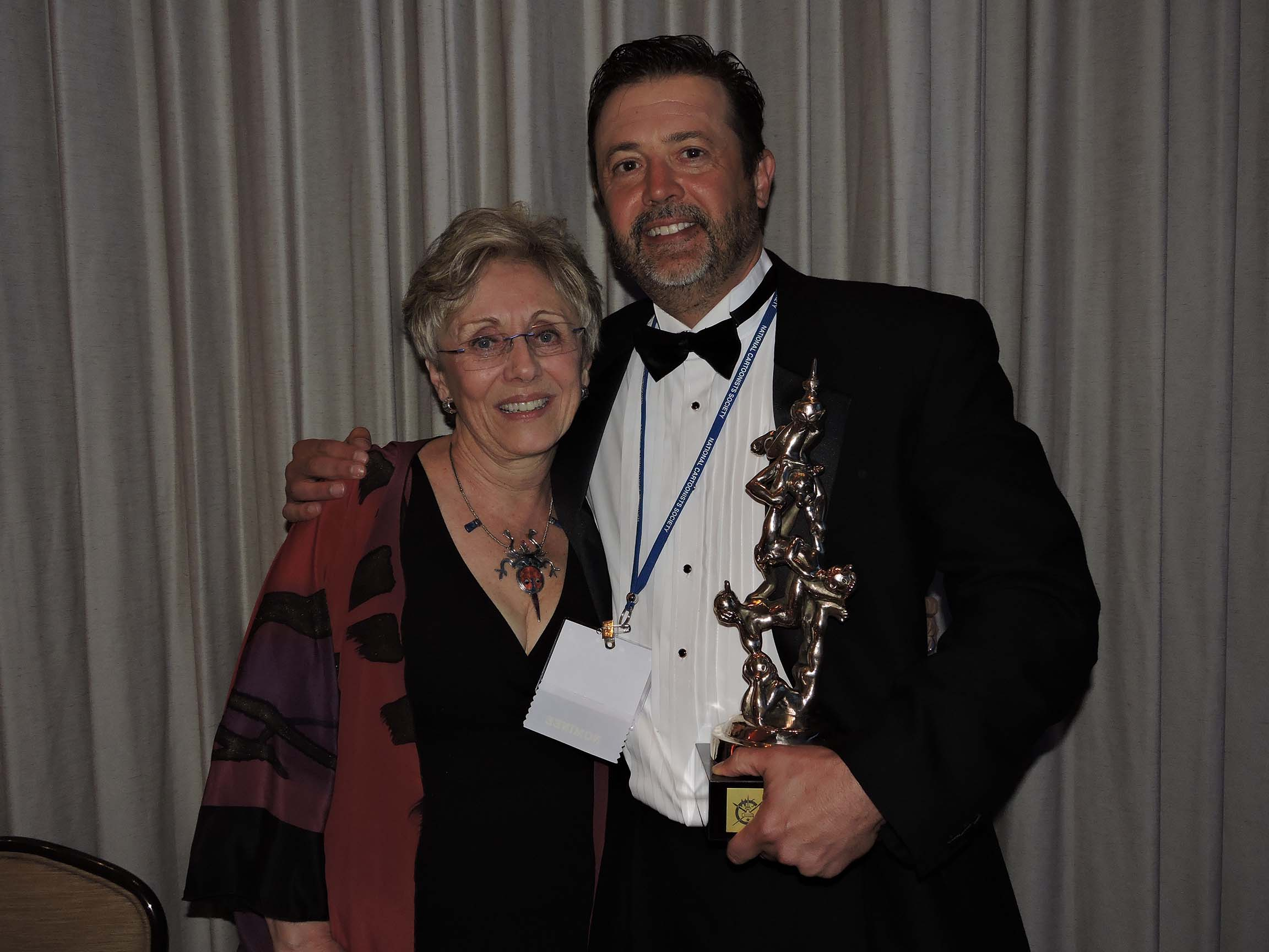 Lynn Johnston and Stephan Pastis...