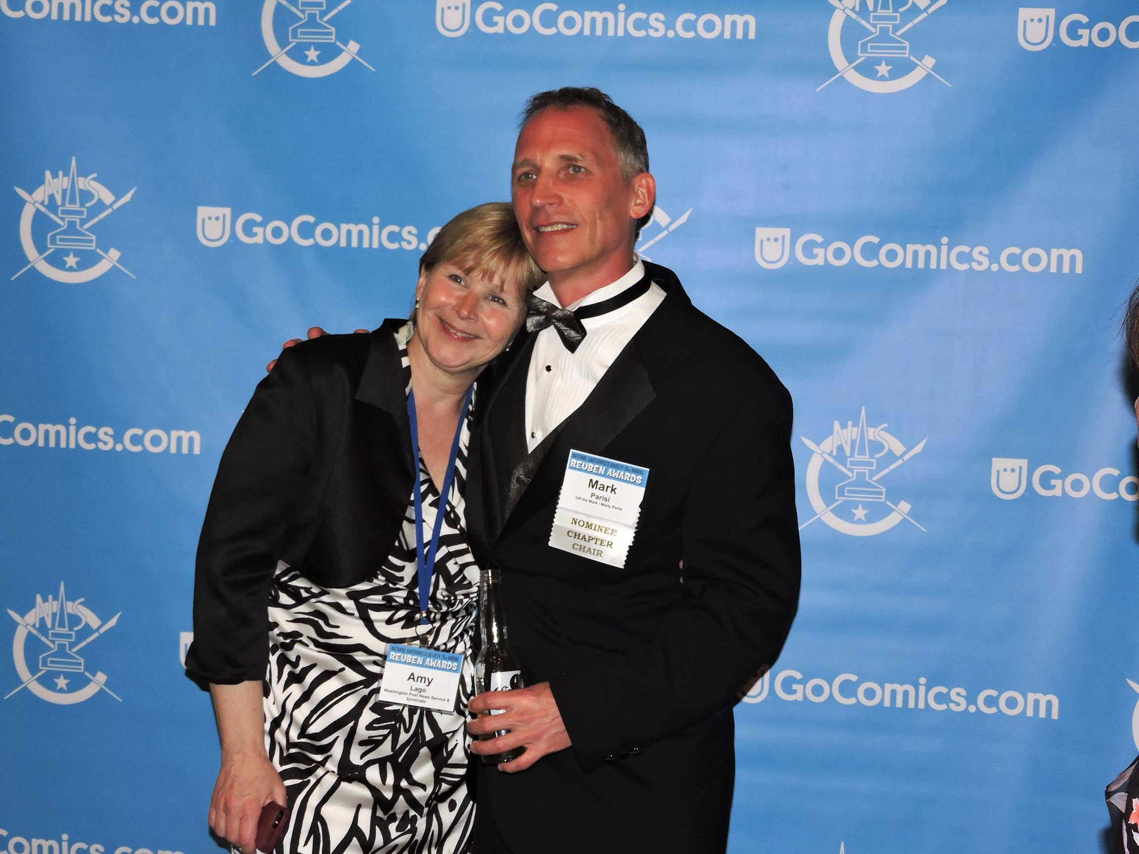 Amy Lago and Mark Parisi