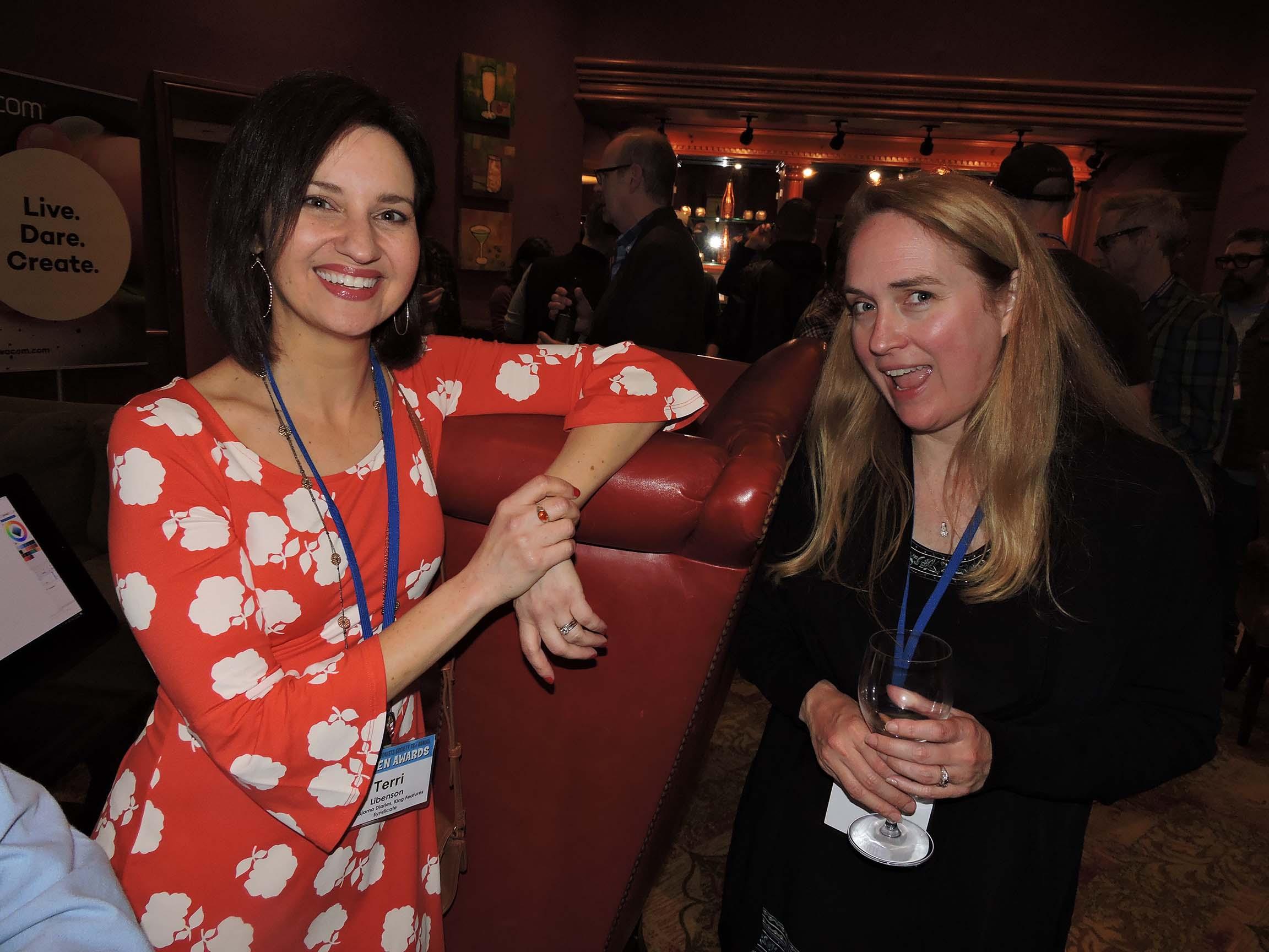 Terri Libenson (left) and Jenny Robb
