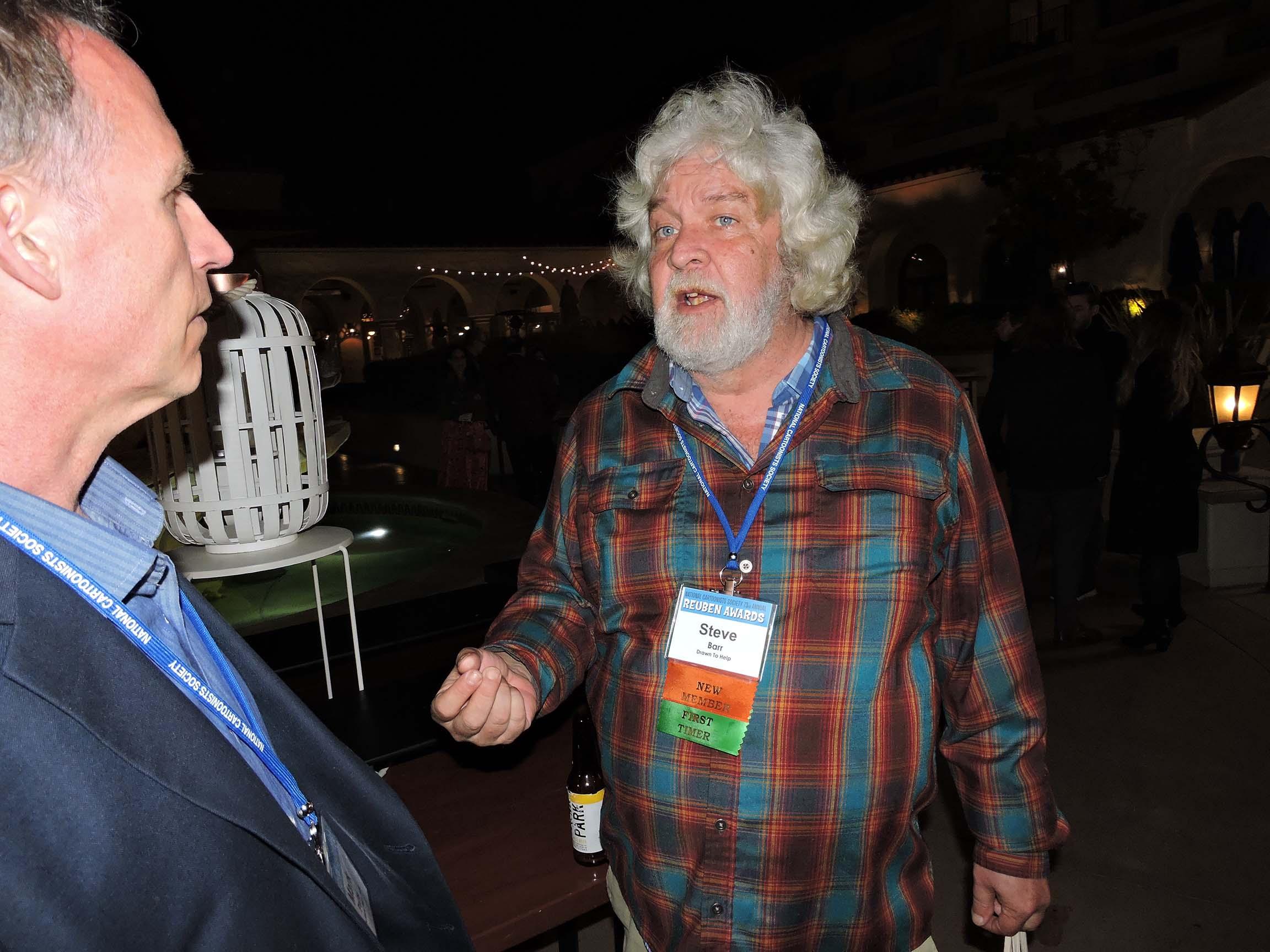 Mark Parisi and Steve Barr