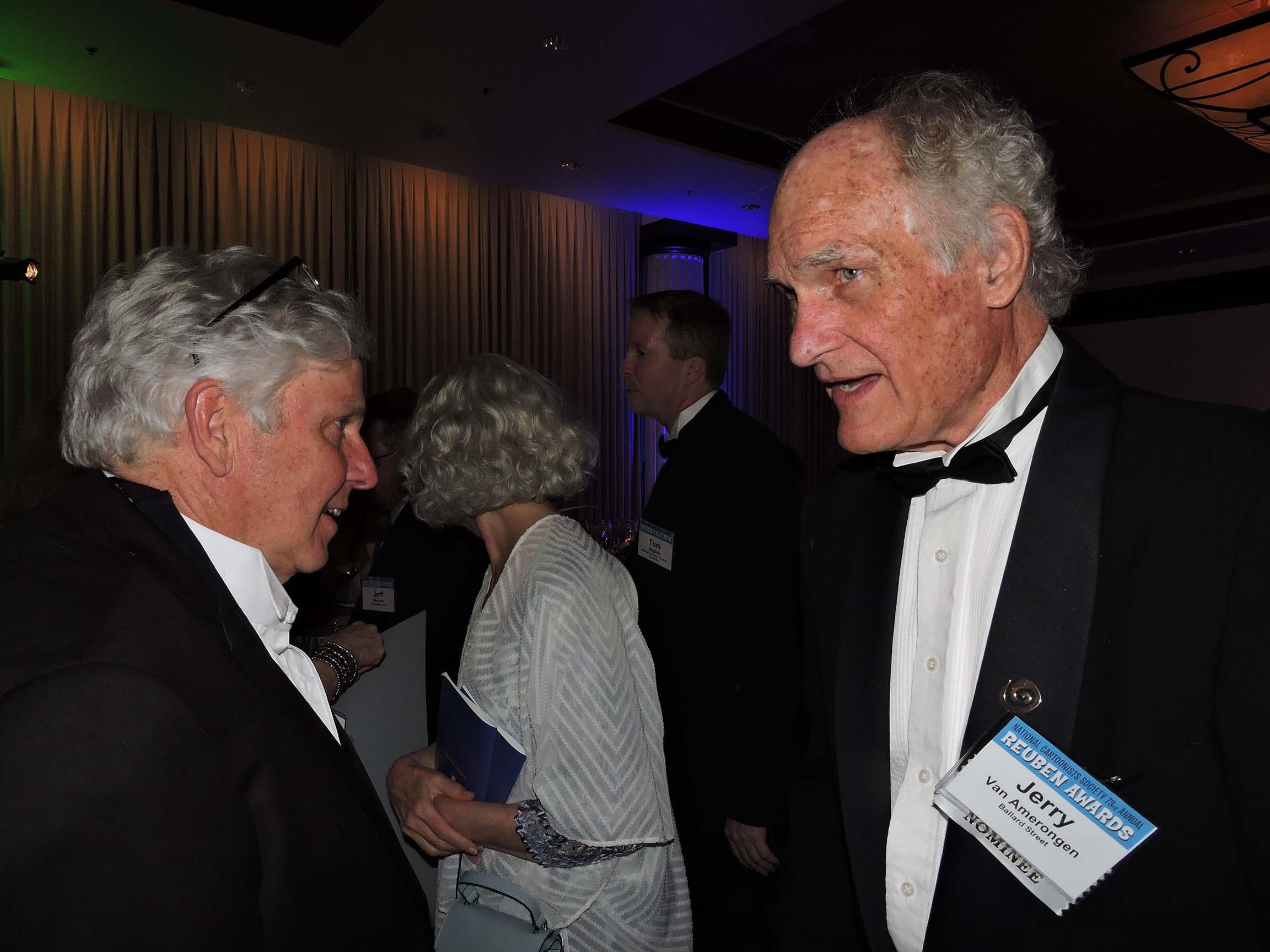 Dan McConnell (left) and Jerry Van Amerongen