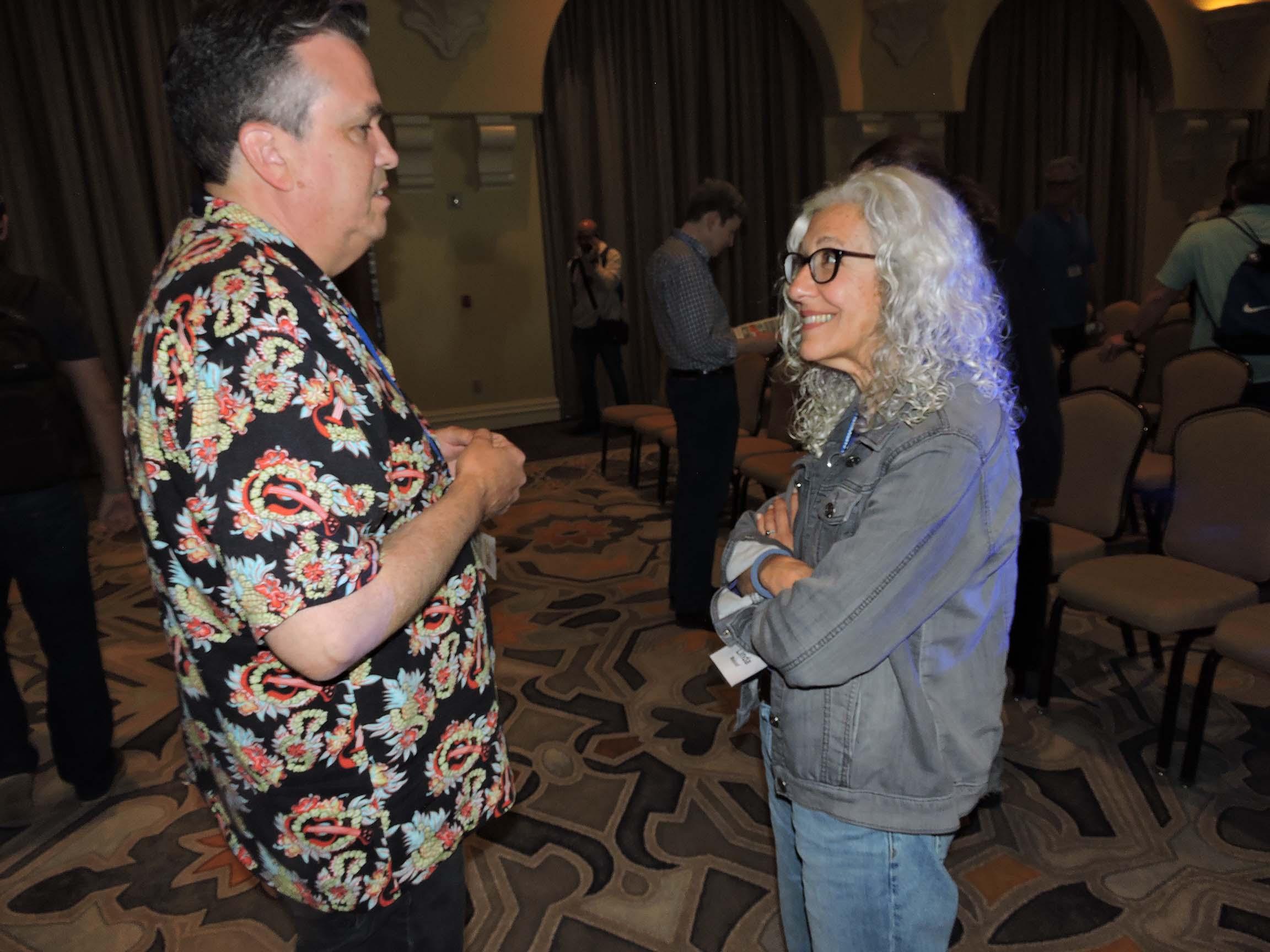 Bill Morrison and Linda Maloof