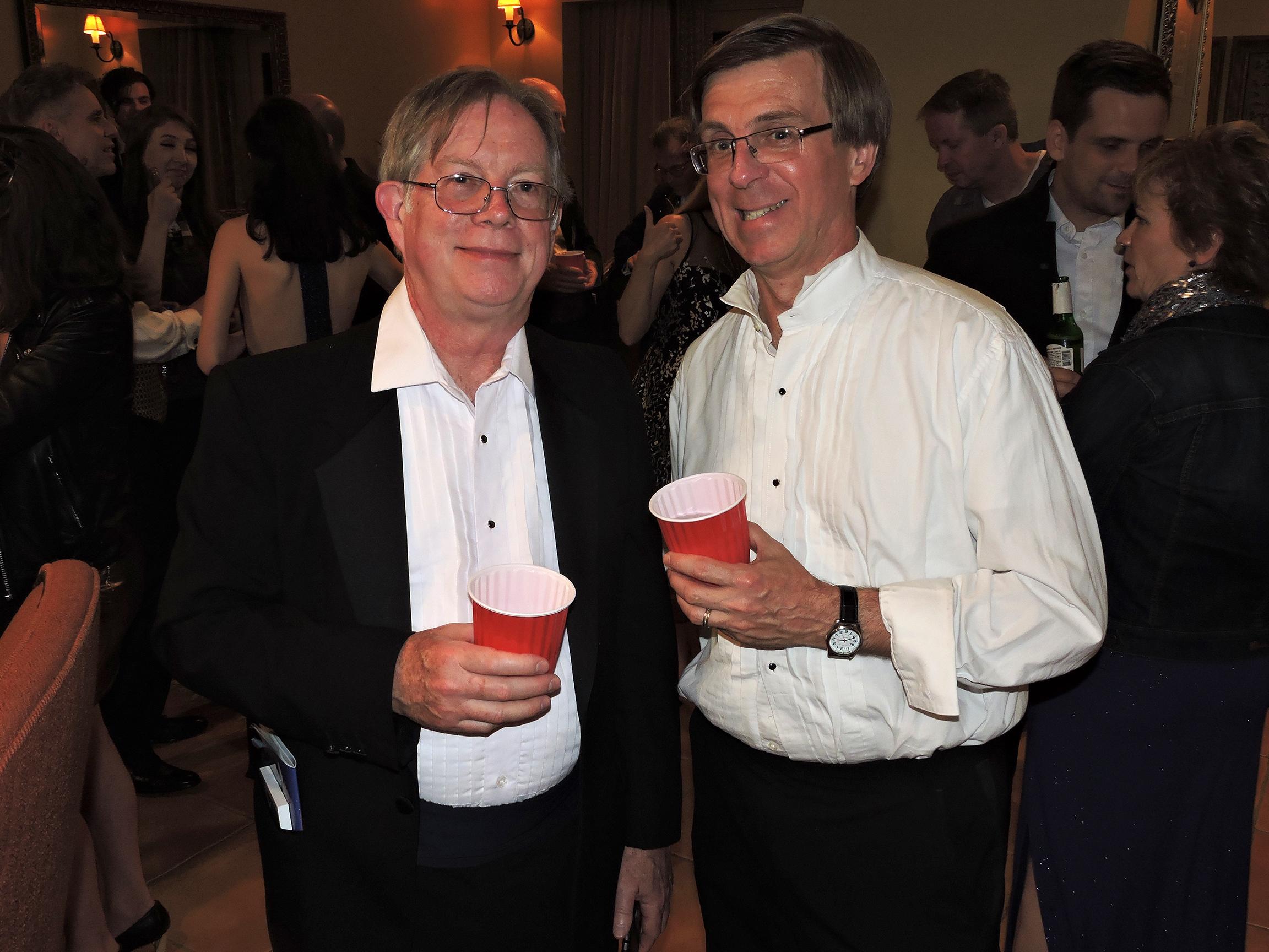 Greg Walker (left) and Bill Janocha
