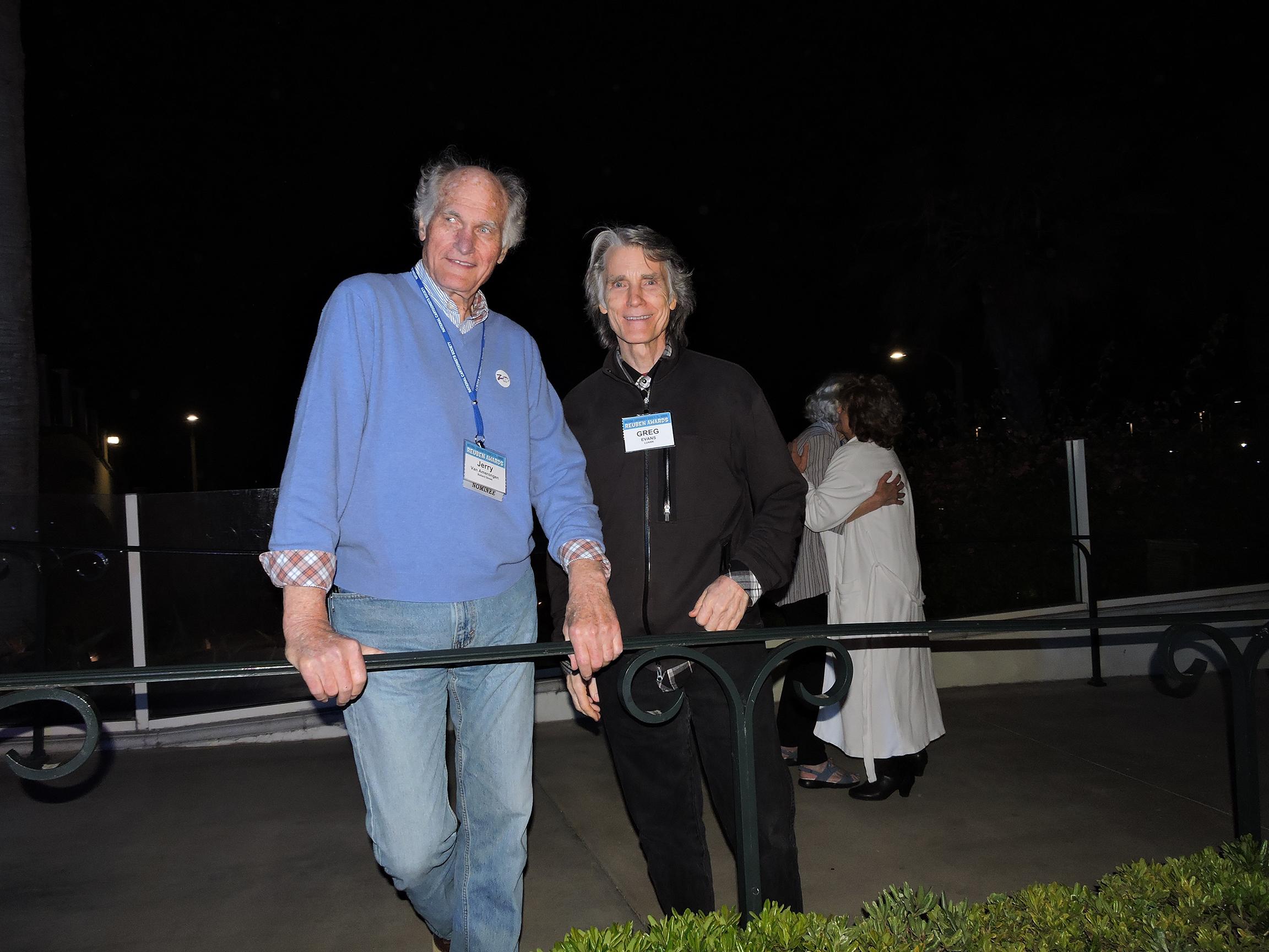 Jerry Van Amerongen (left) and Greg Evans