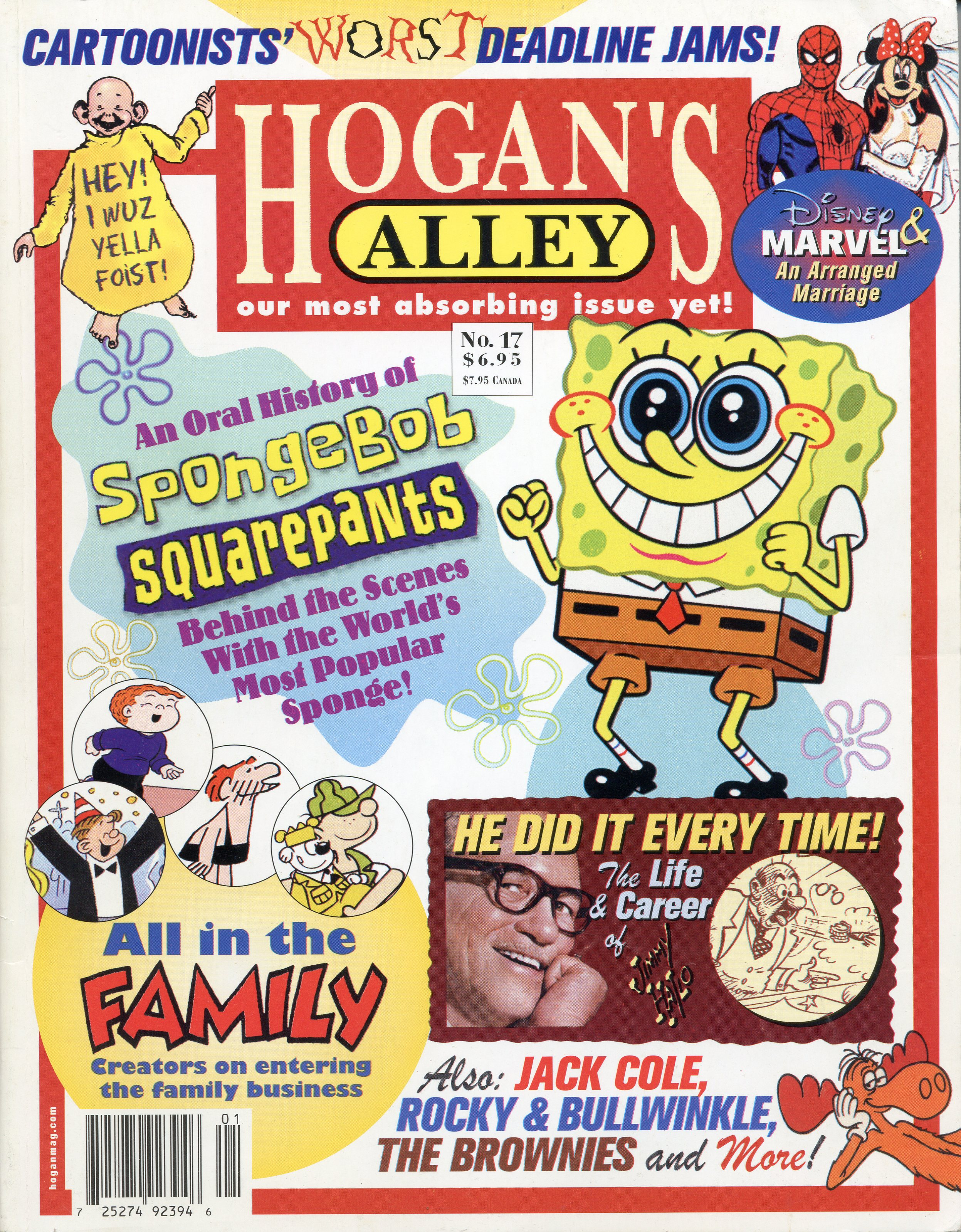 To purchase a printed copy of  Hogan's Alley  #17, where this article first appeared, just click the cover image above!