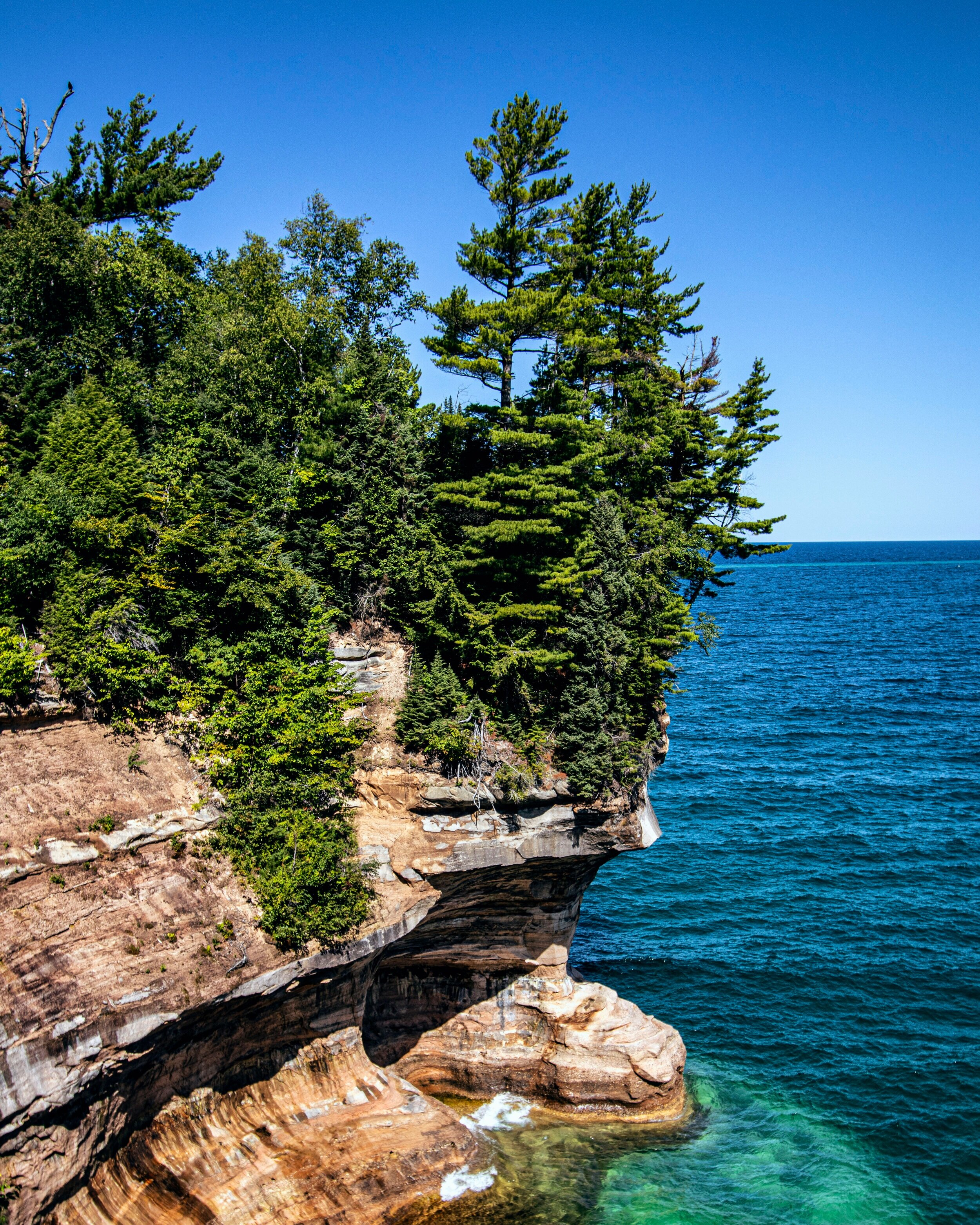 Pictured Rocks, Michigan, 08.19.2019