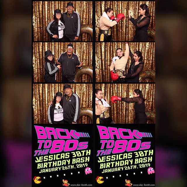 We've never seen an 80's themed party like this! Thanks for having us at your 30th birthday @jbmexican #photobooth #dasbooth #slz #dirtythirty #photoboothevent #radical #party