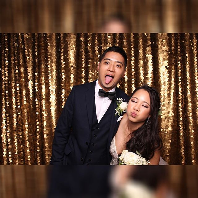 We don't know of any couple sweeter than these two, they even had a sour candy dessert bar! Thanks for having @dasbooth make your day even more decadent! #photobooth #brazilianroom #ucberkeley #wedding #420wedding #dasbooth