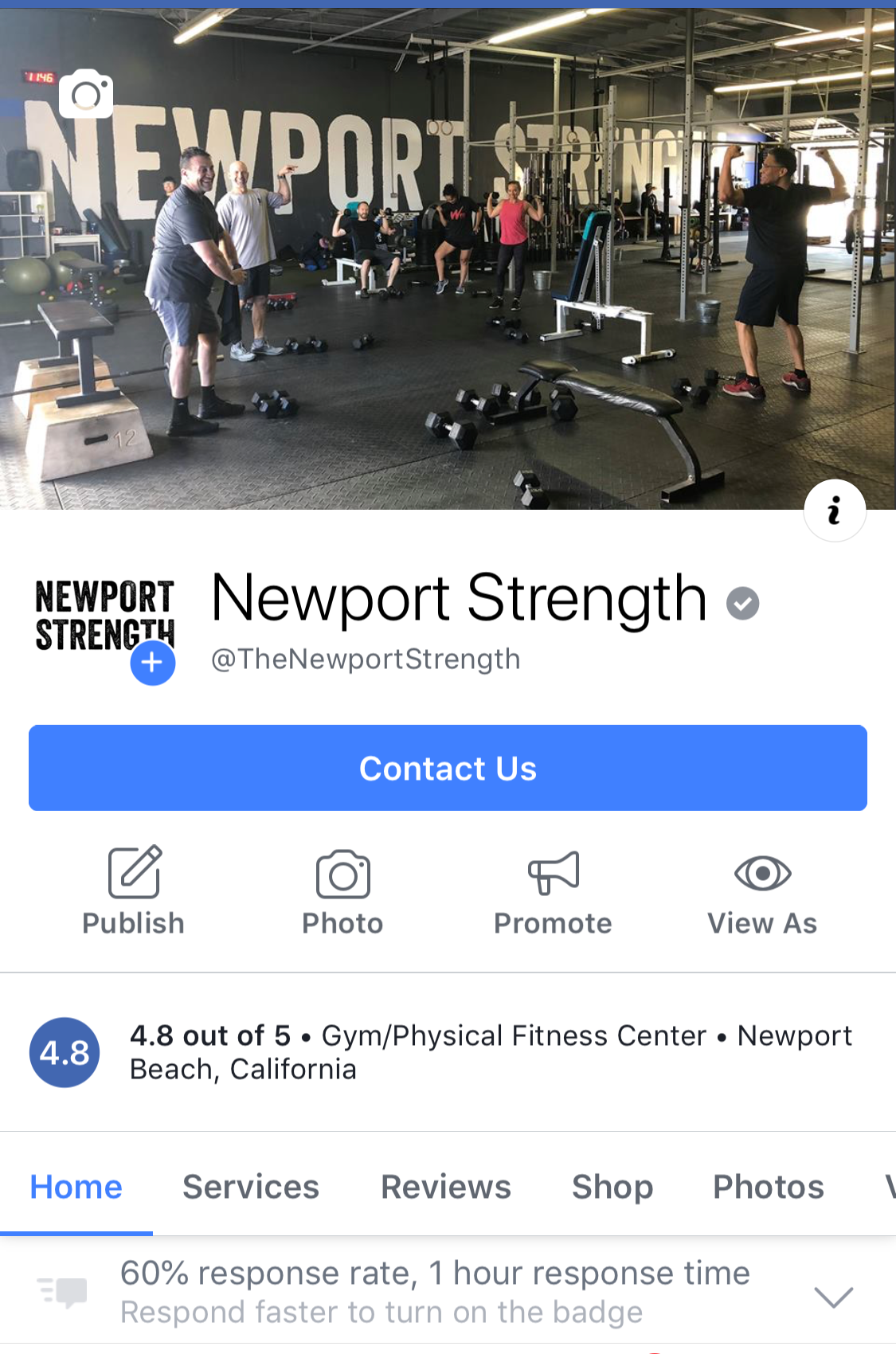 Newport Strength Facebook Page