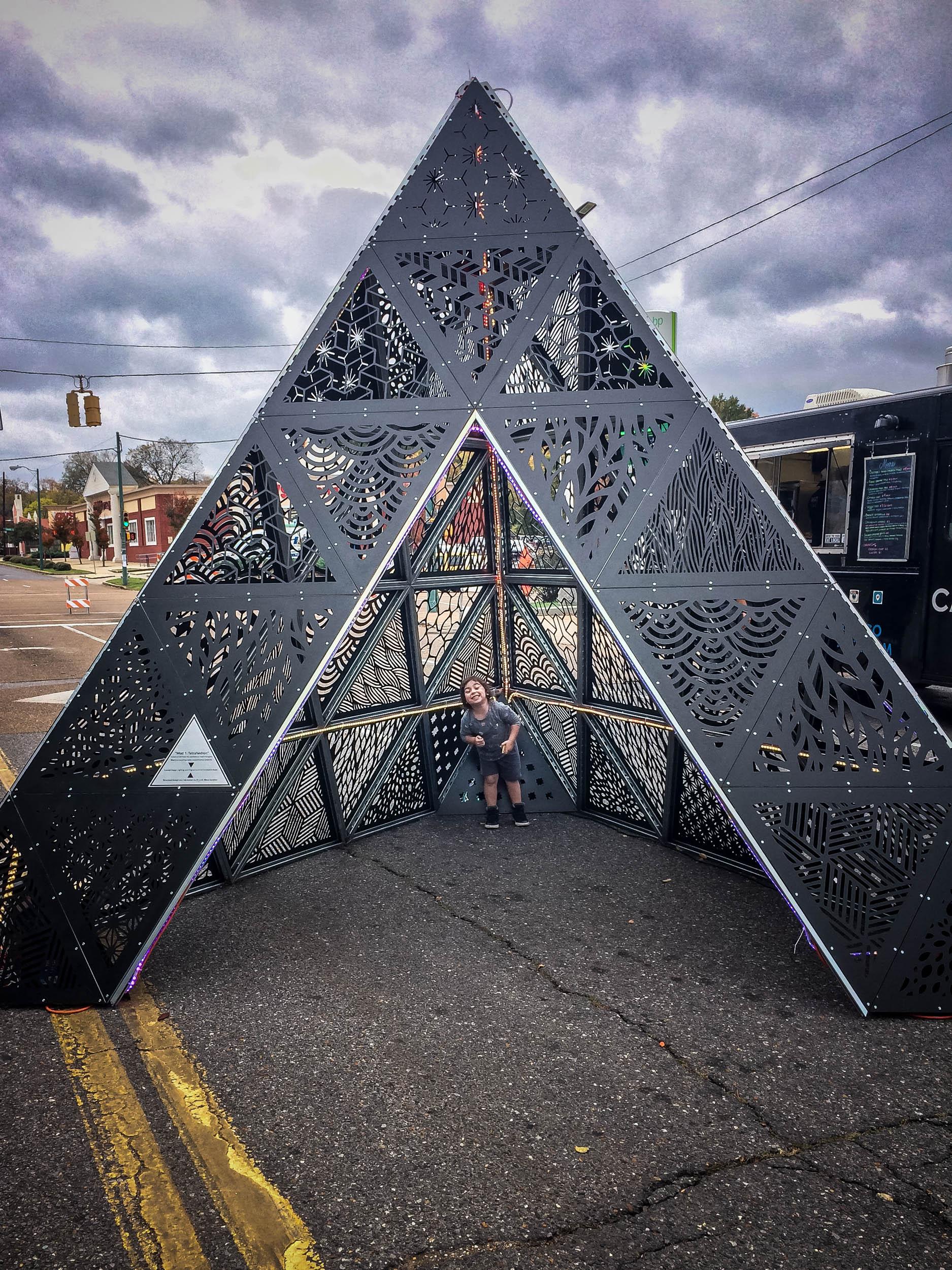 MOD 1 Tetrahedron Indie Memphis