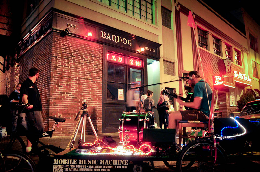 Live From Memphis' Mobile Music Machine with Alex Paulus