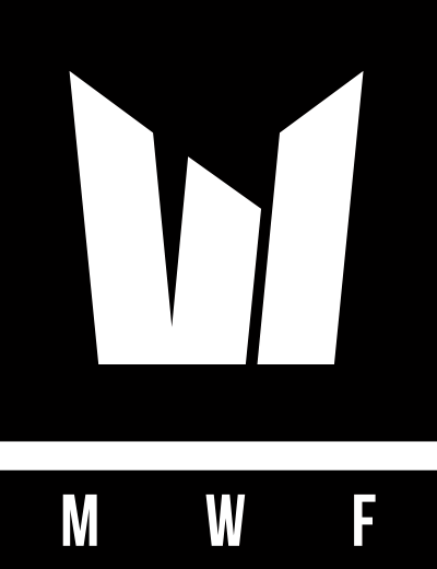 Black and White Initials