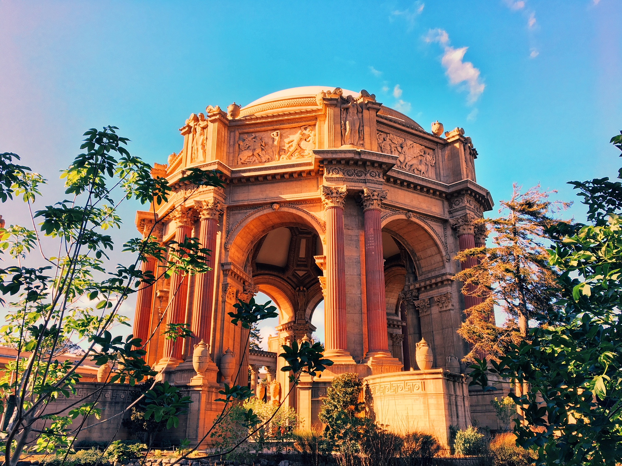 San Francisco, CA - Palace of fine arts