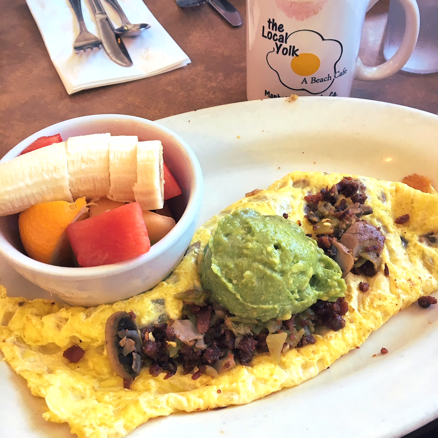 The Local Yolk, Los Angeles, CA (best omelette I ever had)