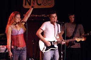 Crazy James performs, Photo: Stuart Williams