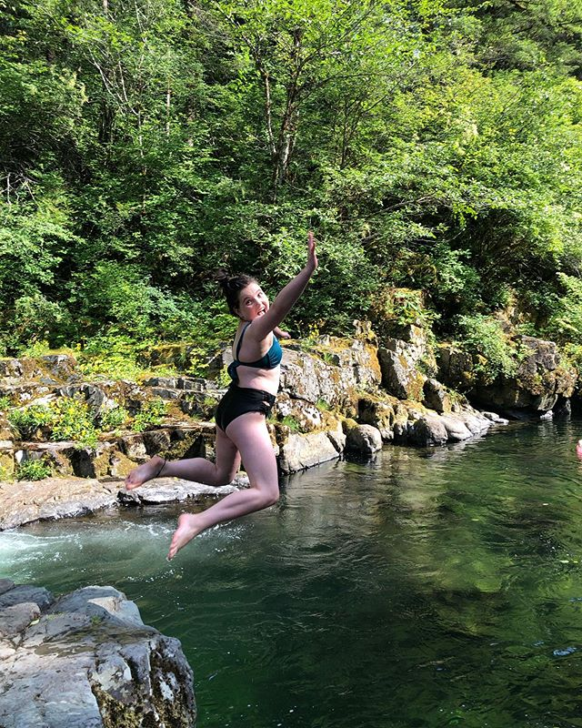 "This. Girl. ❤️ ALWAYS living her best life... ALWAYS. She's the first to jump in and the last to get out. She's ""all in"" every time. What a gift."