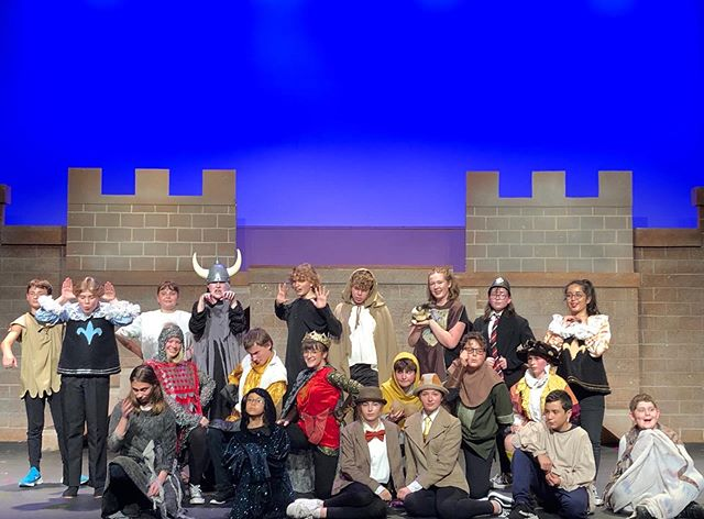 Monty Python's Holy Grail has never been funnier. These kids crushed it at @nwchildrenstheater ✨✨✨