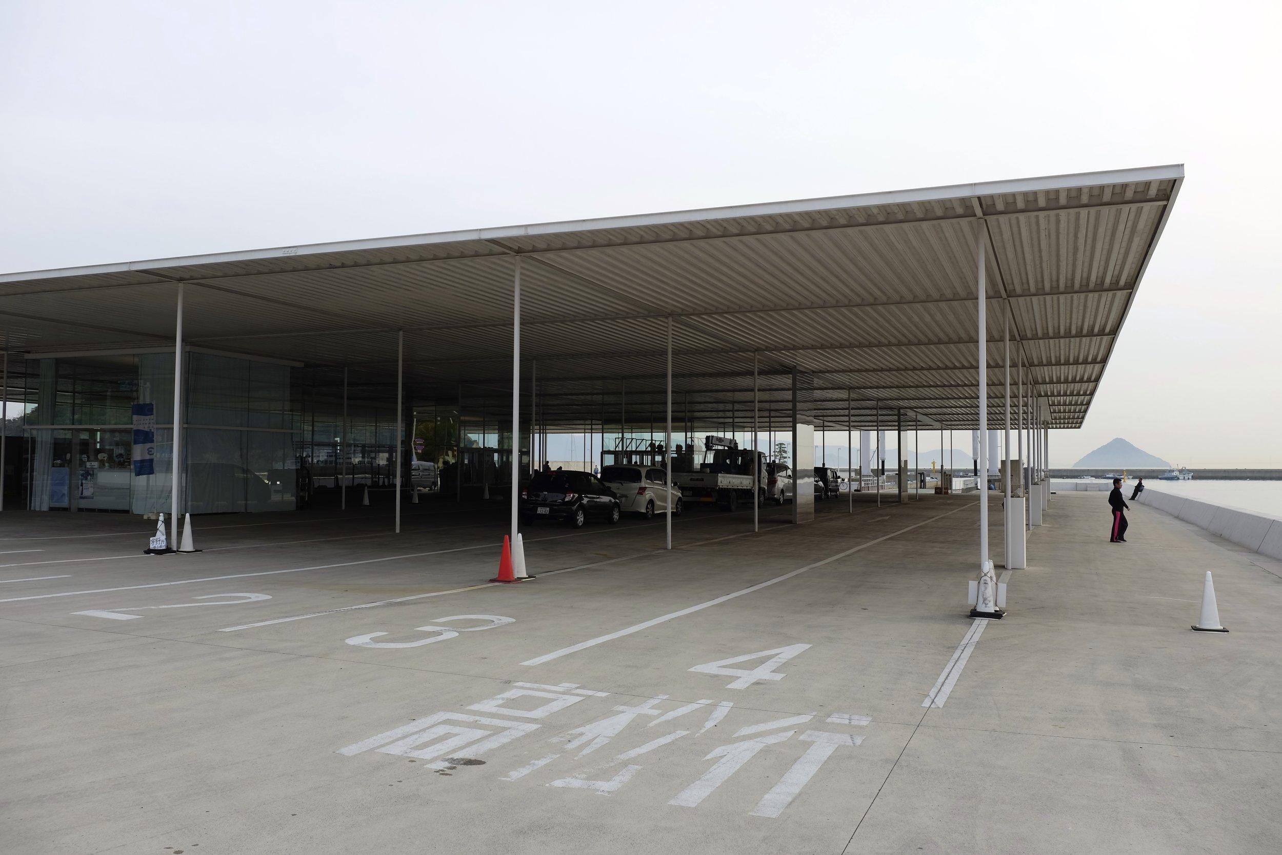 Naoshima Ferry Terminal, by SANAA
