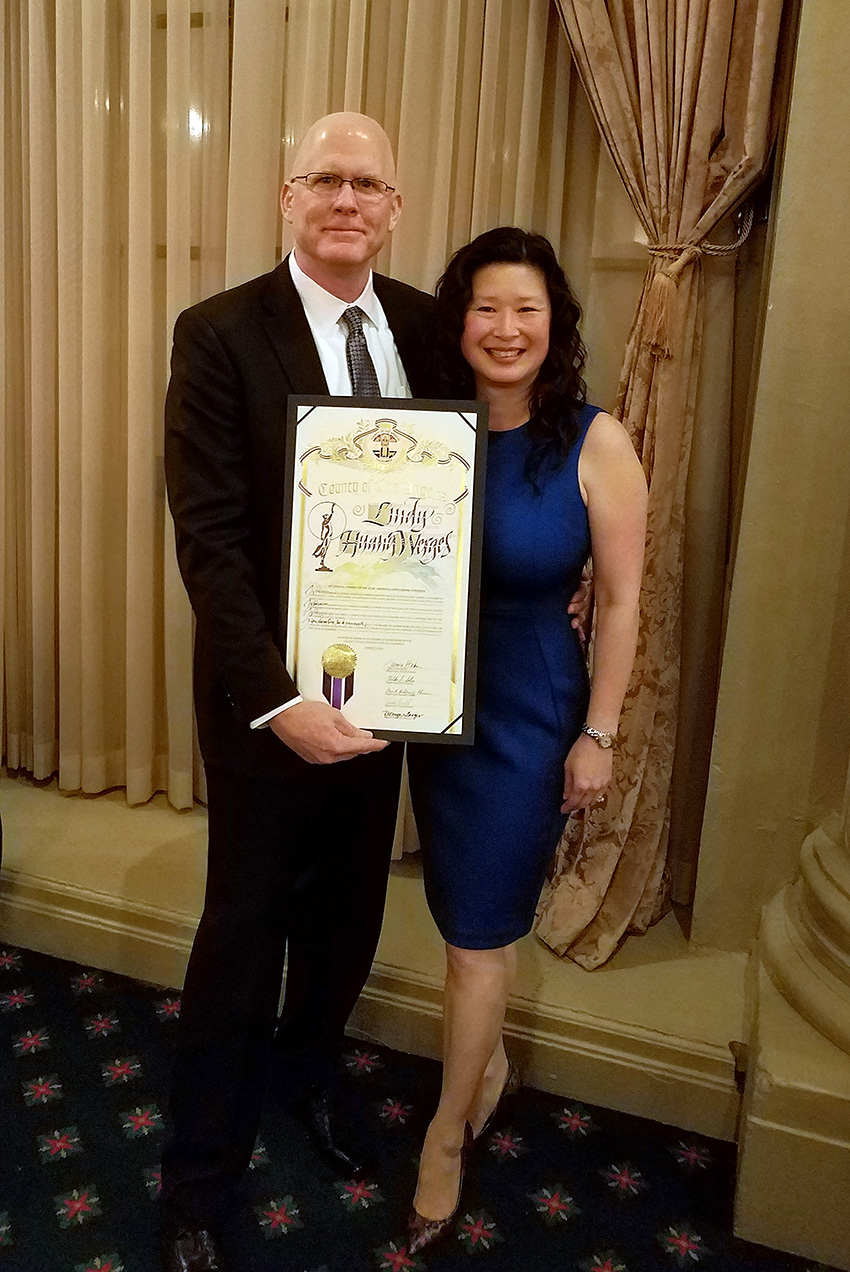 Tom Werges  (Founder,  Slinger Straps ) & Lindy Huang Werges