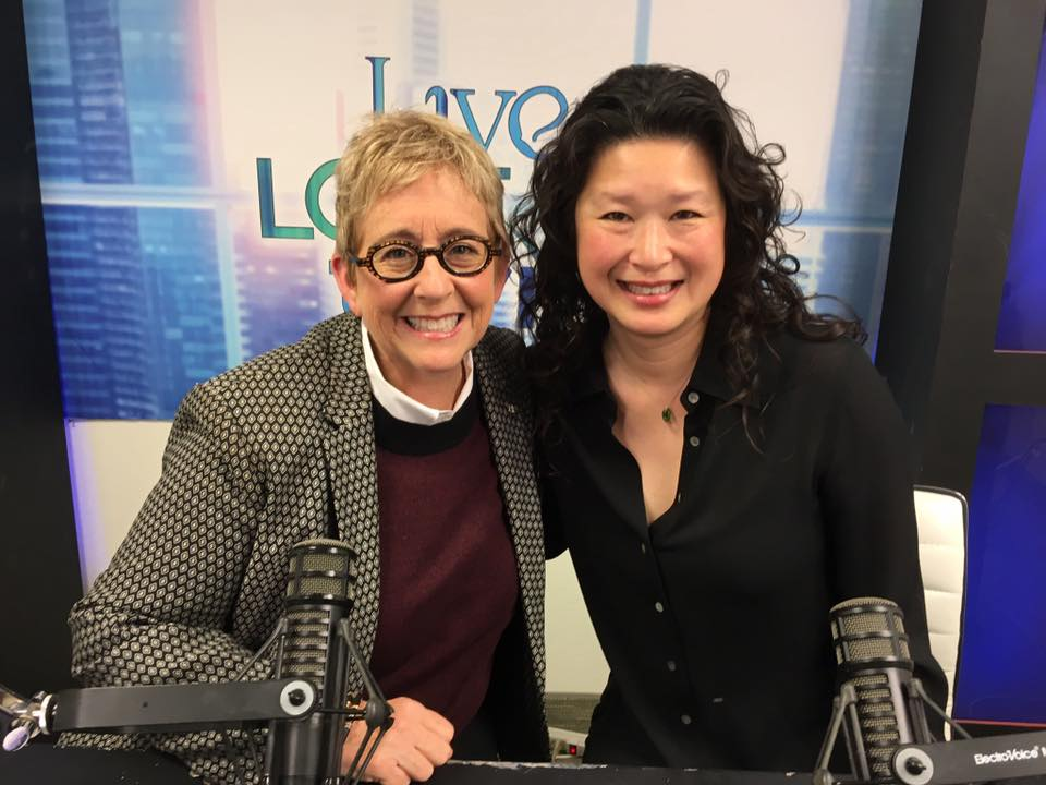 "Catherine Gray  of  Live Love Thrive ,  360Karma , &  SheAngels ;  Lindy Huang Werges ,  Los Angeles County Commission for Women  ""Woman of the Year 