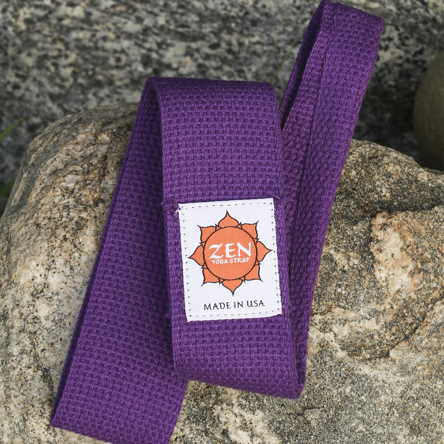 Zen Yoga Strap: Purple Strap