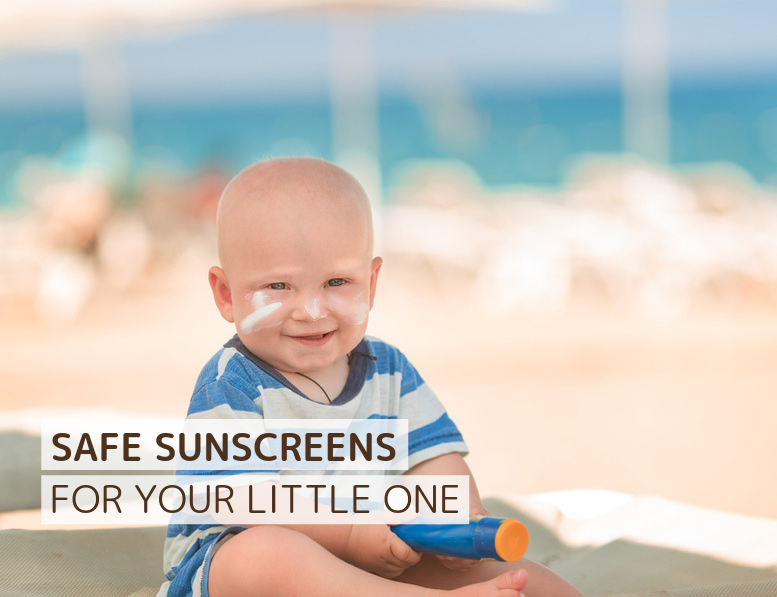The Cleanest Sunscreens For Your Baby