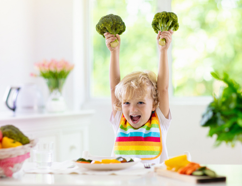 Feed Babies a Variety of Vegetables, Experts Insist