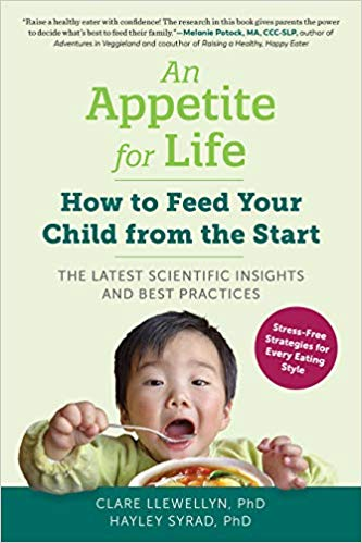 A new book on how to feed babies advises parents to introduce their little ones to vegetables as soon as they begin eating solids.