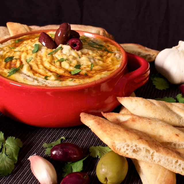 - White Bean Hummus