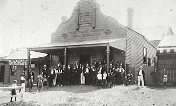 Helensburgh and Lilyvale Workmen's Club 1896
