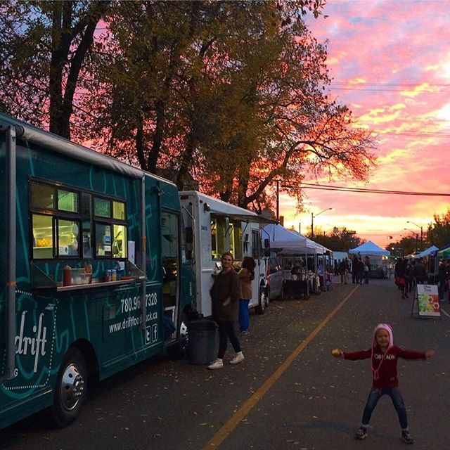 It's DRIFTY'S last night at the @124grandmarket  See you tonight from 4-8pm . . #yegfood #yeg #fallishere #marketseason #dinnerisserved