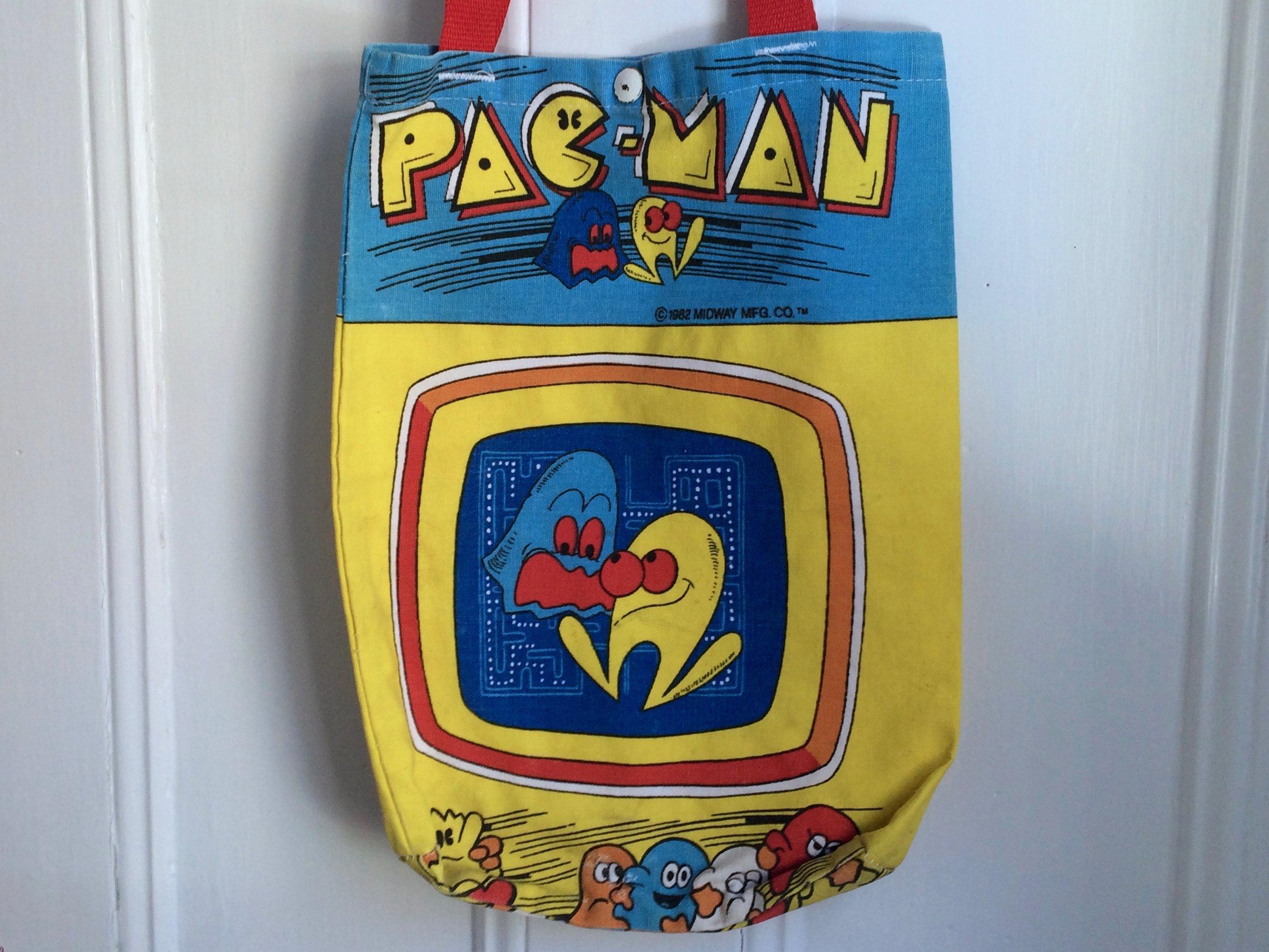 Pac-Man Tote Bag 1982