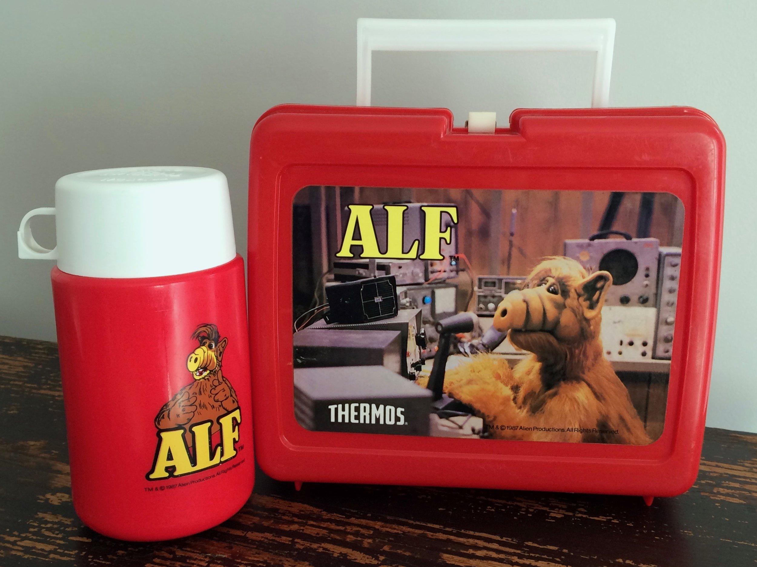 ALF Lunchbox & Thermos 1987