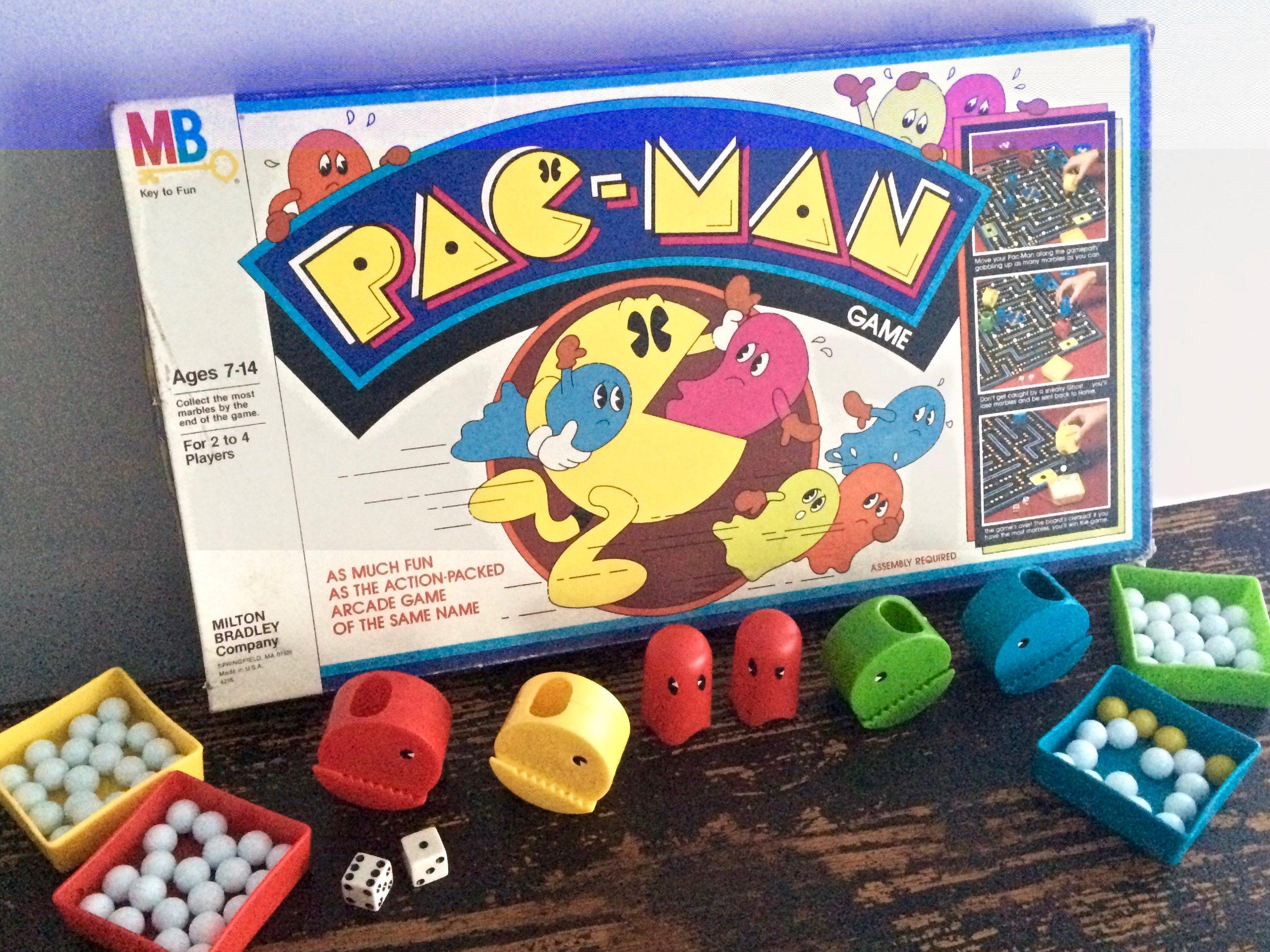 Pac-Man Board Game 1980