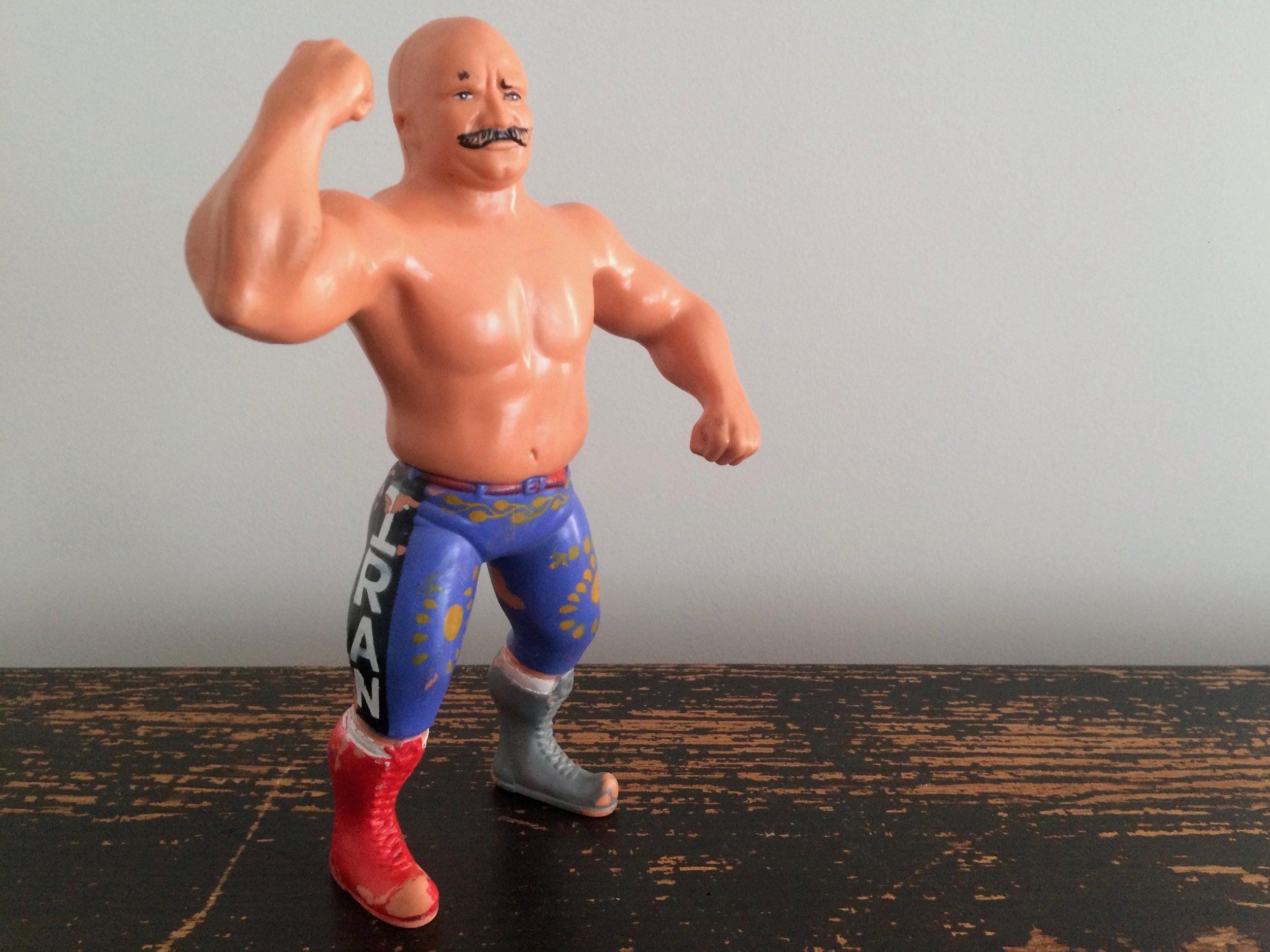 Iron Sheik Figure 1984