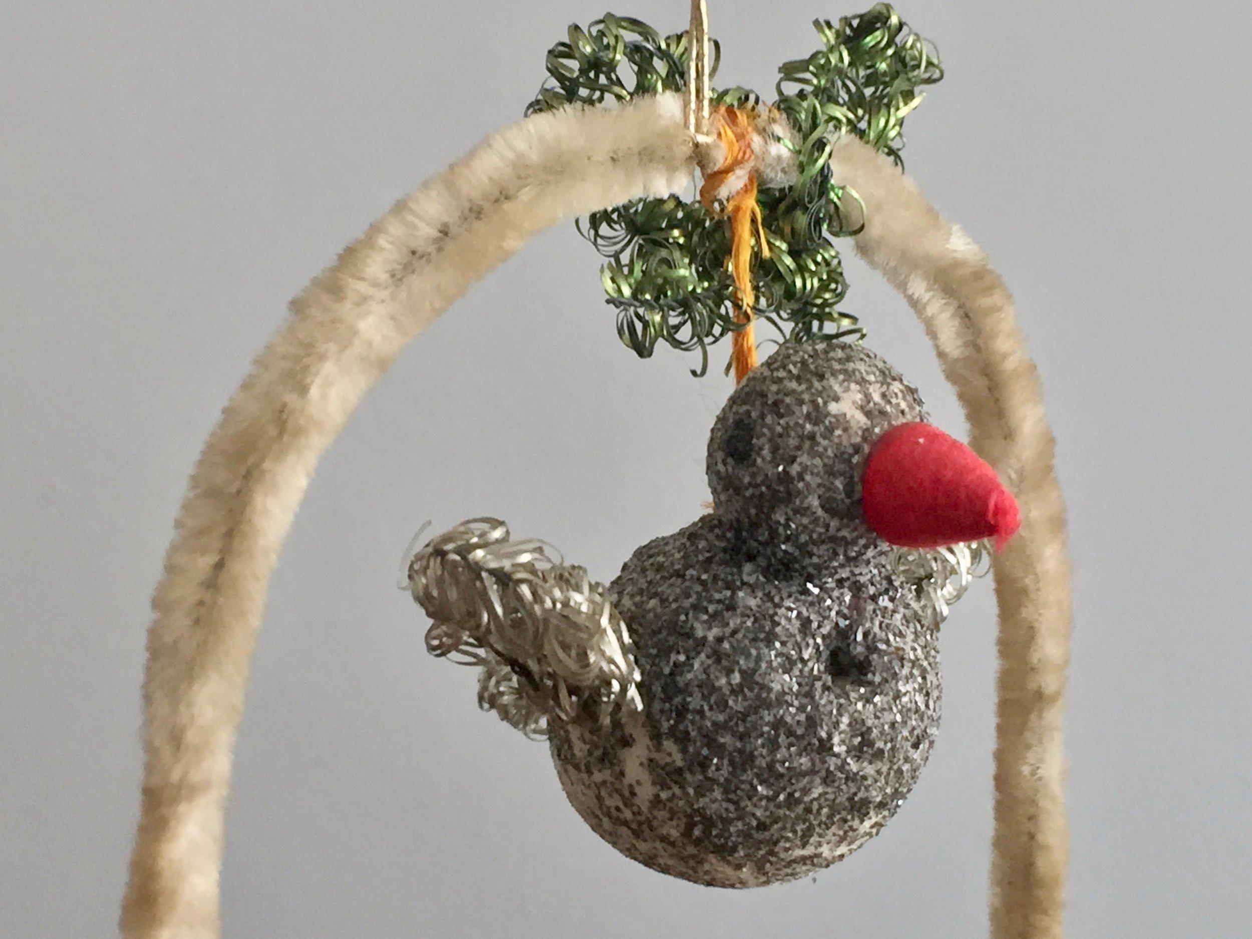 Bird Swing Ornament