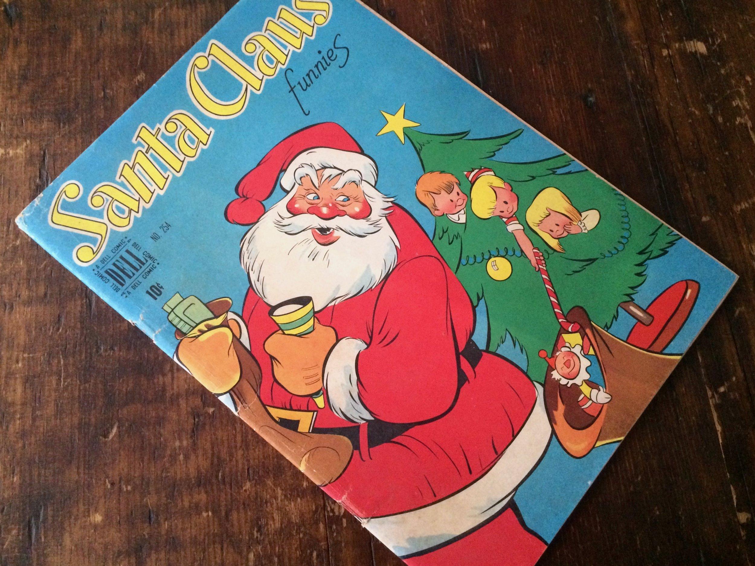 Santa Claus Funnies 1949