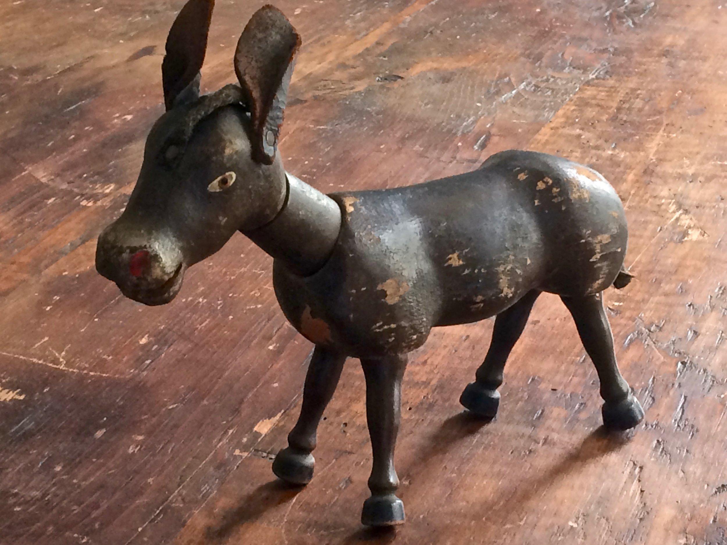 Schoenhut Toy Donkey