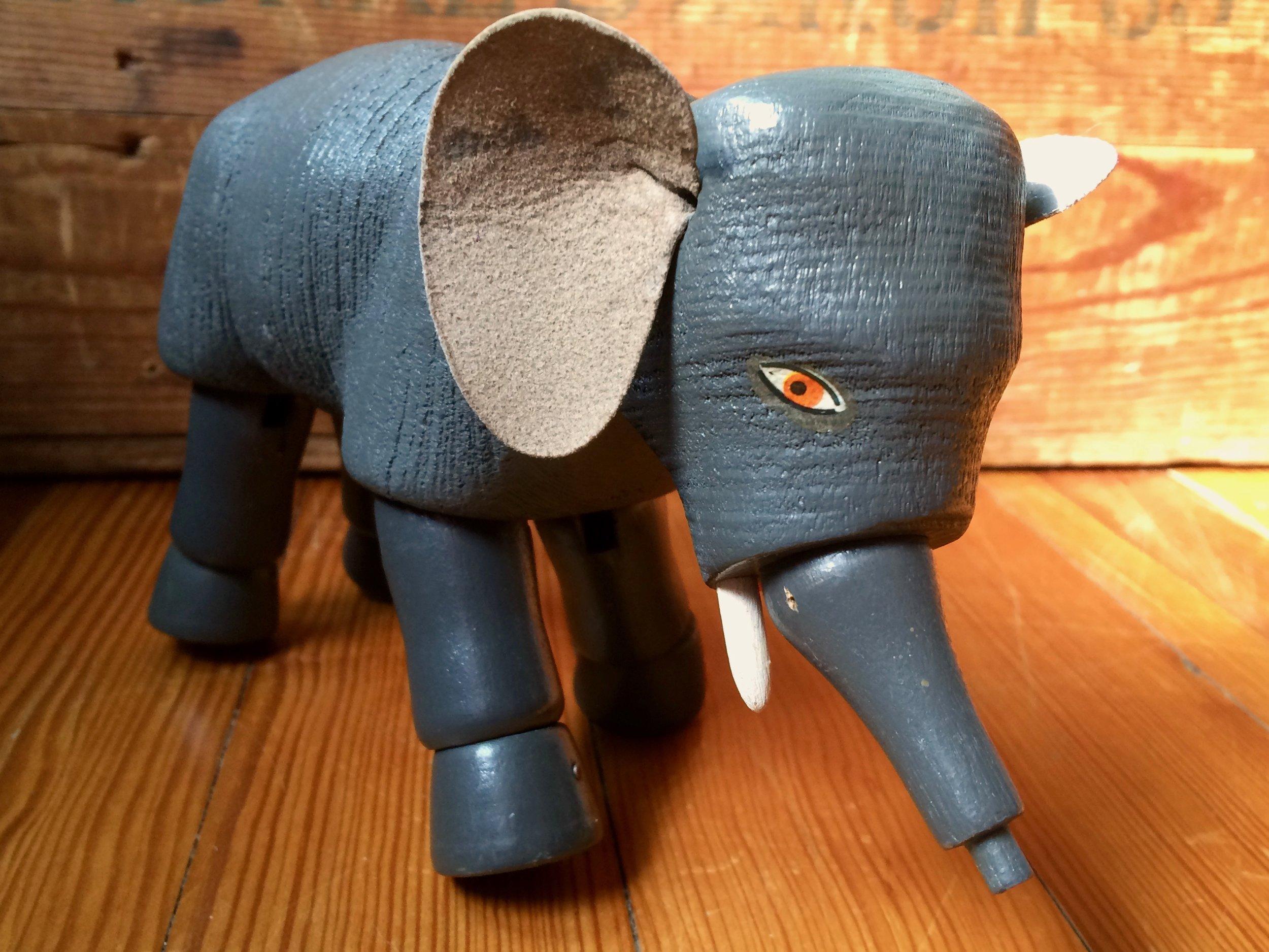 Schoenhut Toy Elephant