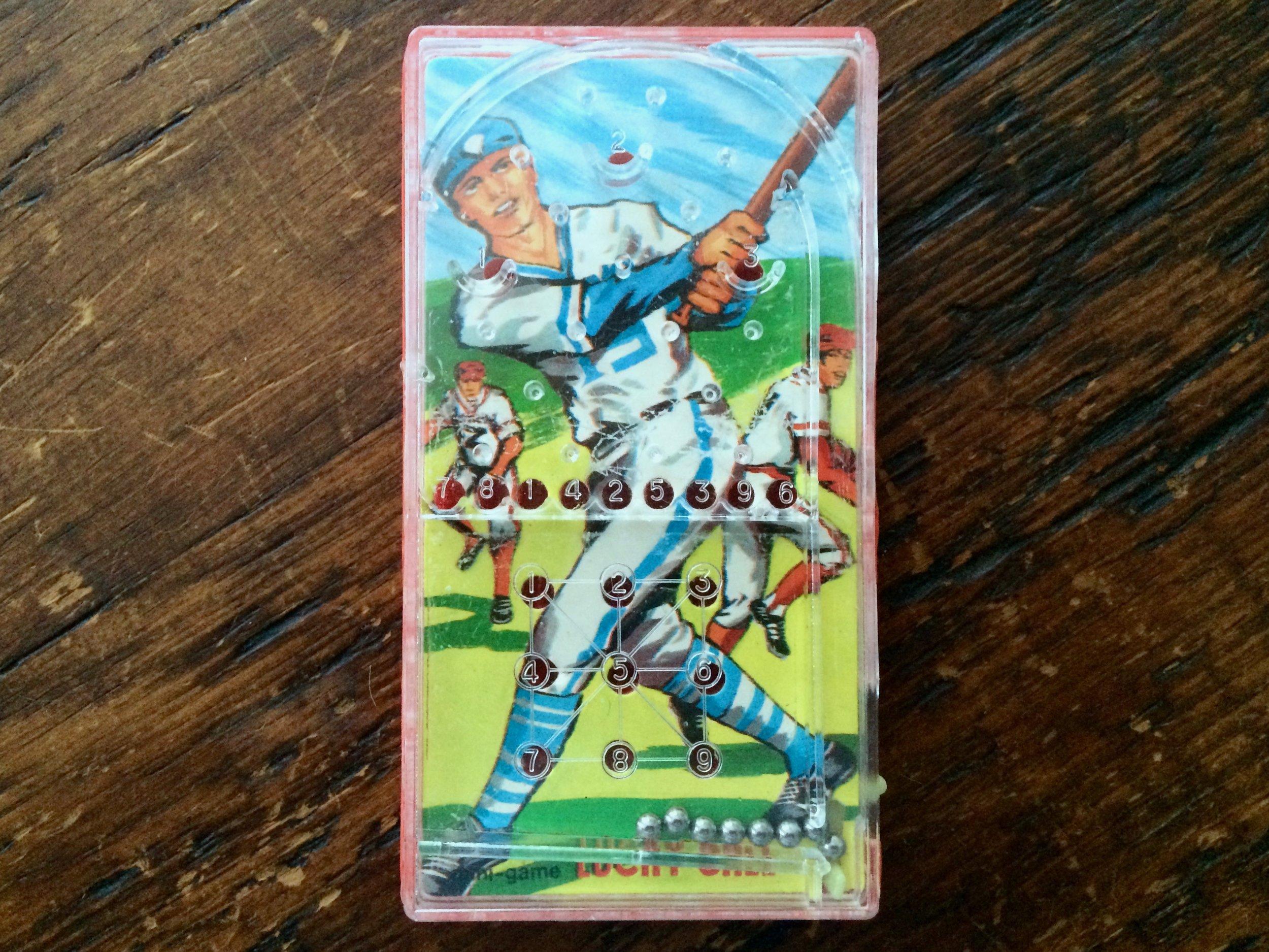 Baseball Mini Pinball Game