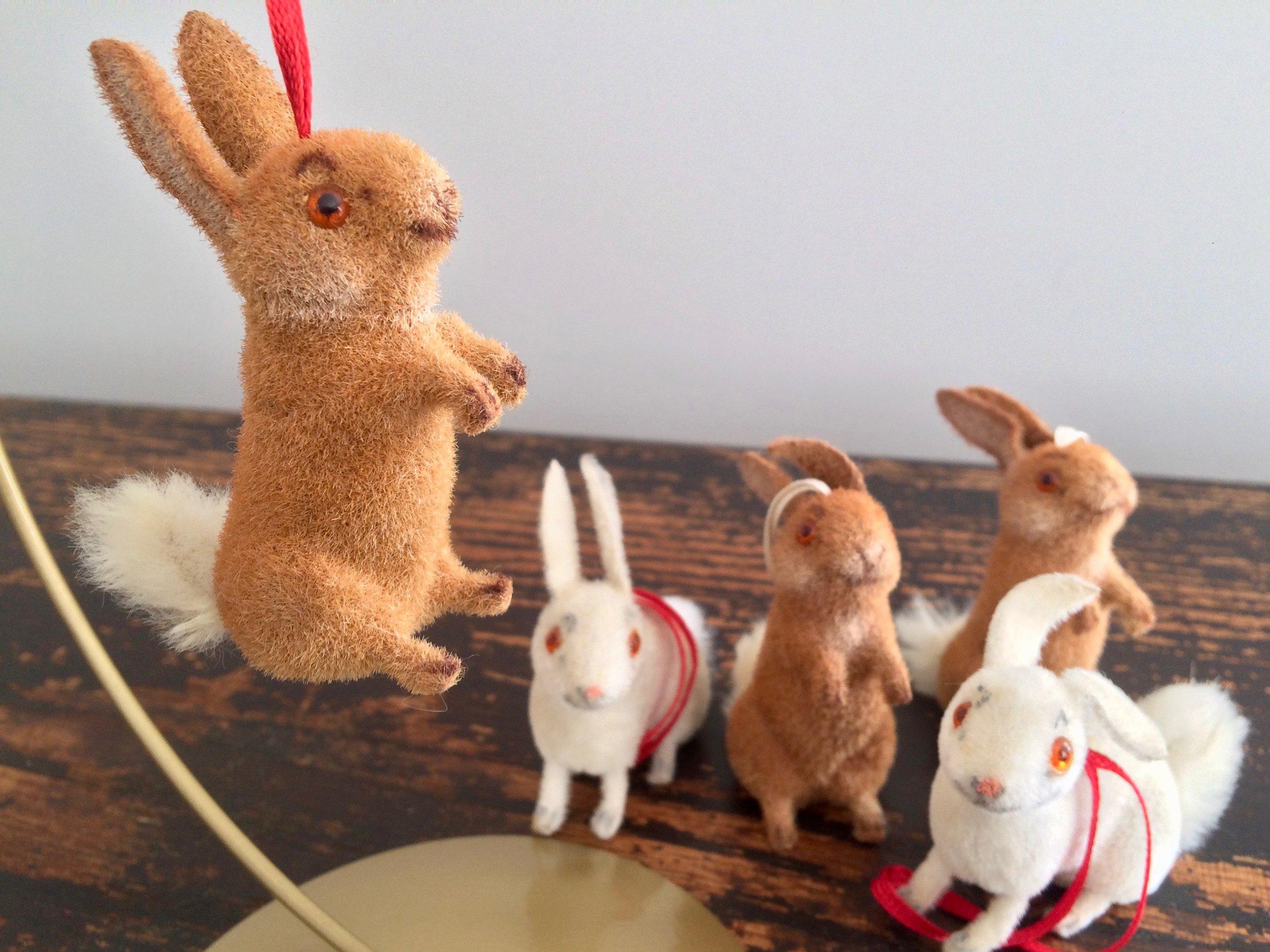 Wagner Rabbits Ornaments