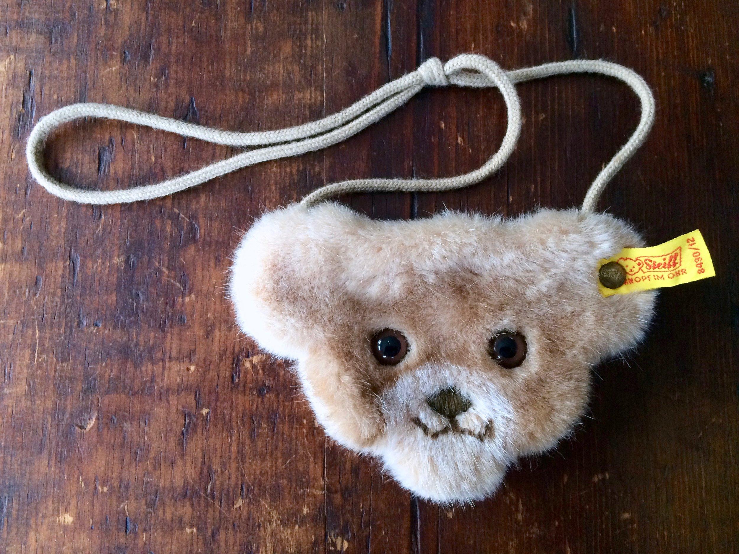 Steiff Teddy Bear Purse