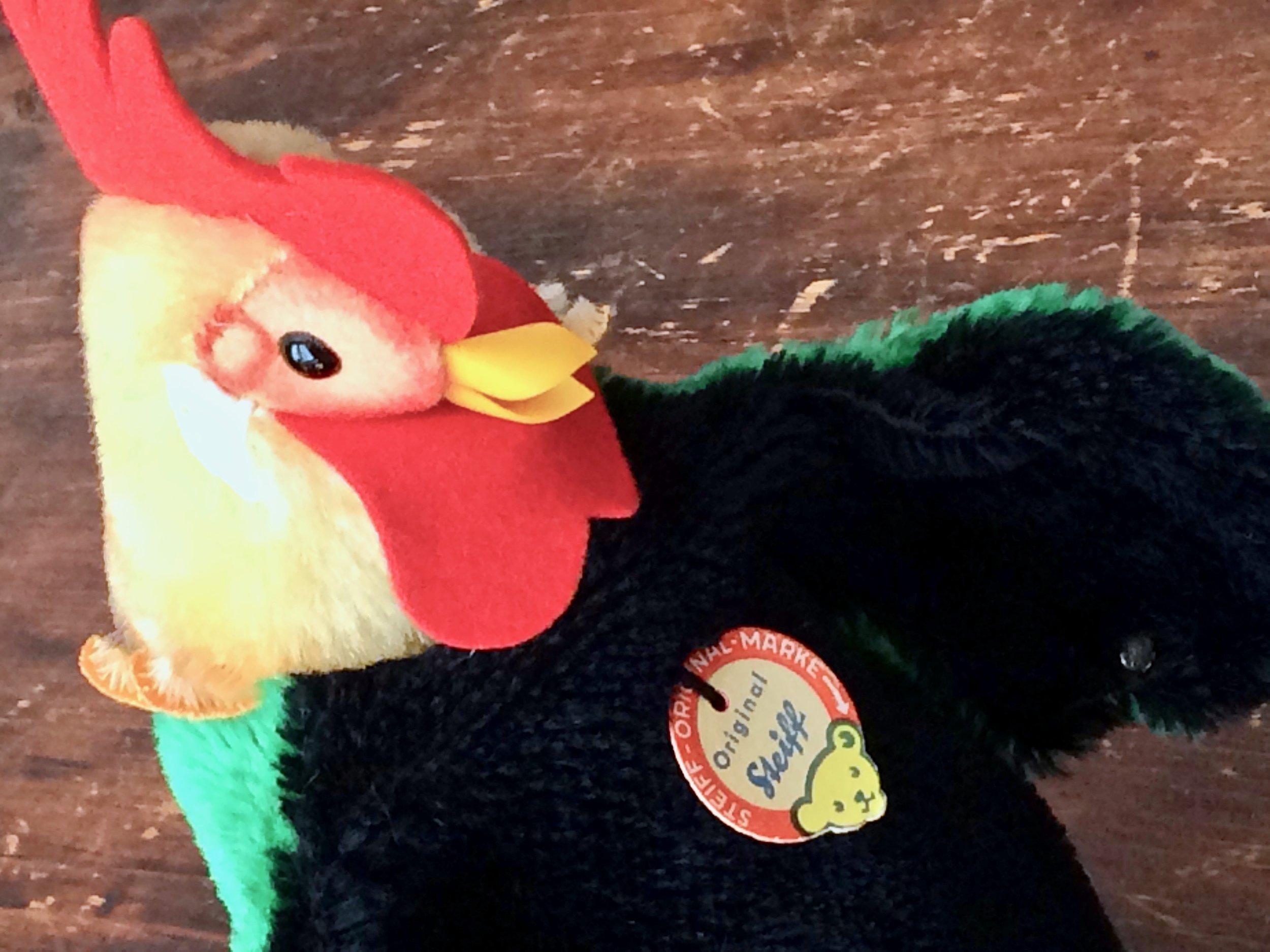 Steiff Rooster Hand Puppet